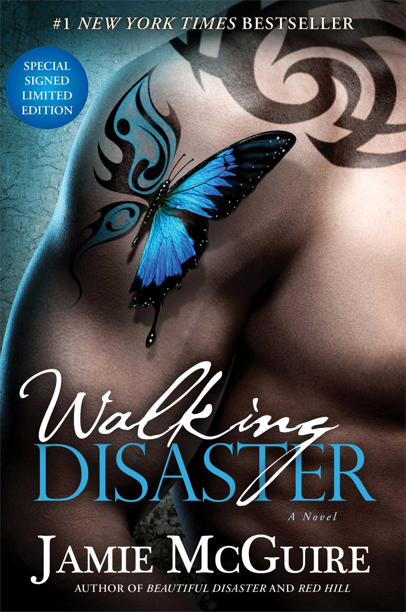 Walking disaster signed limited edition 9781476751252 hr