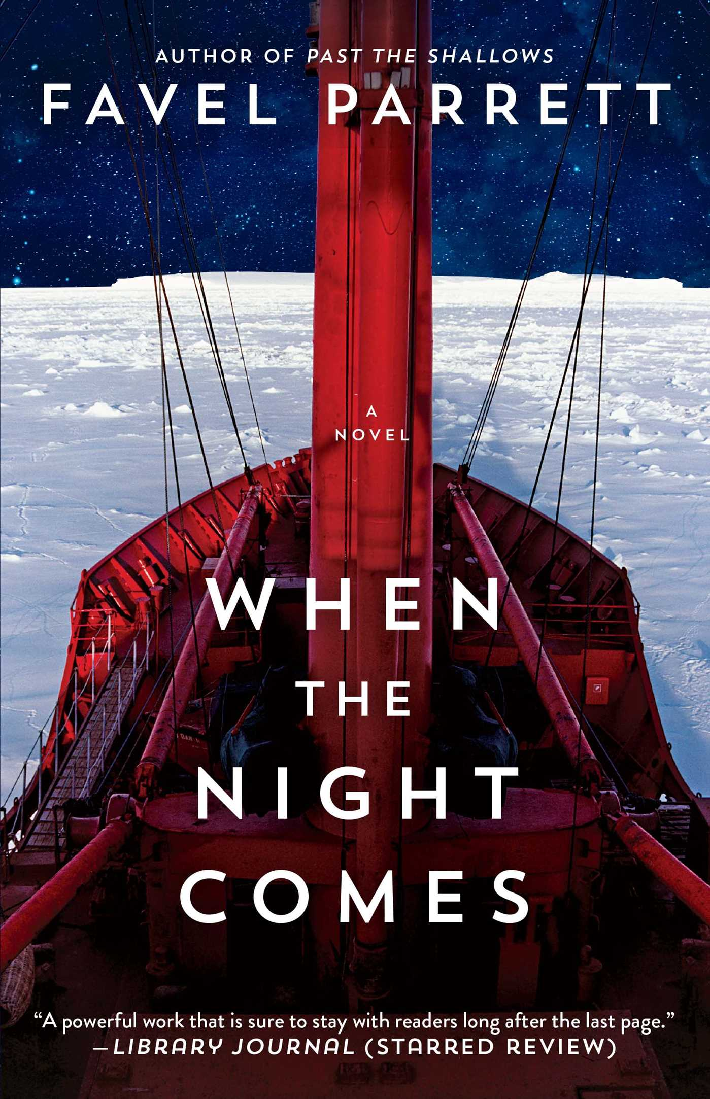 When the night comes 9781476754901 hr