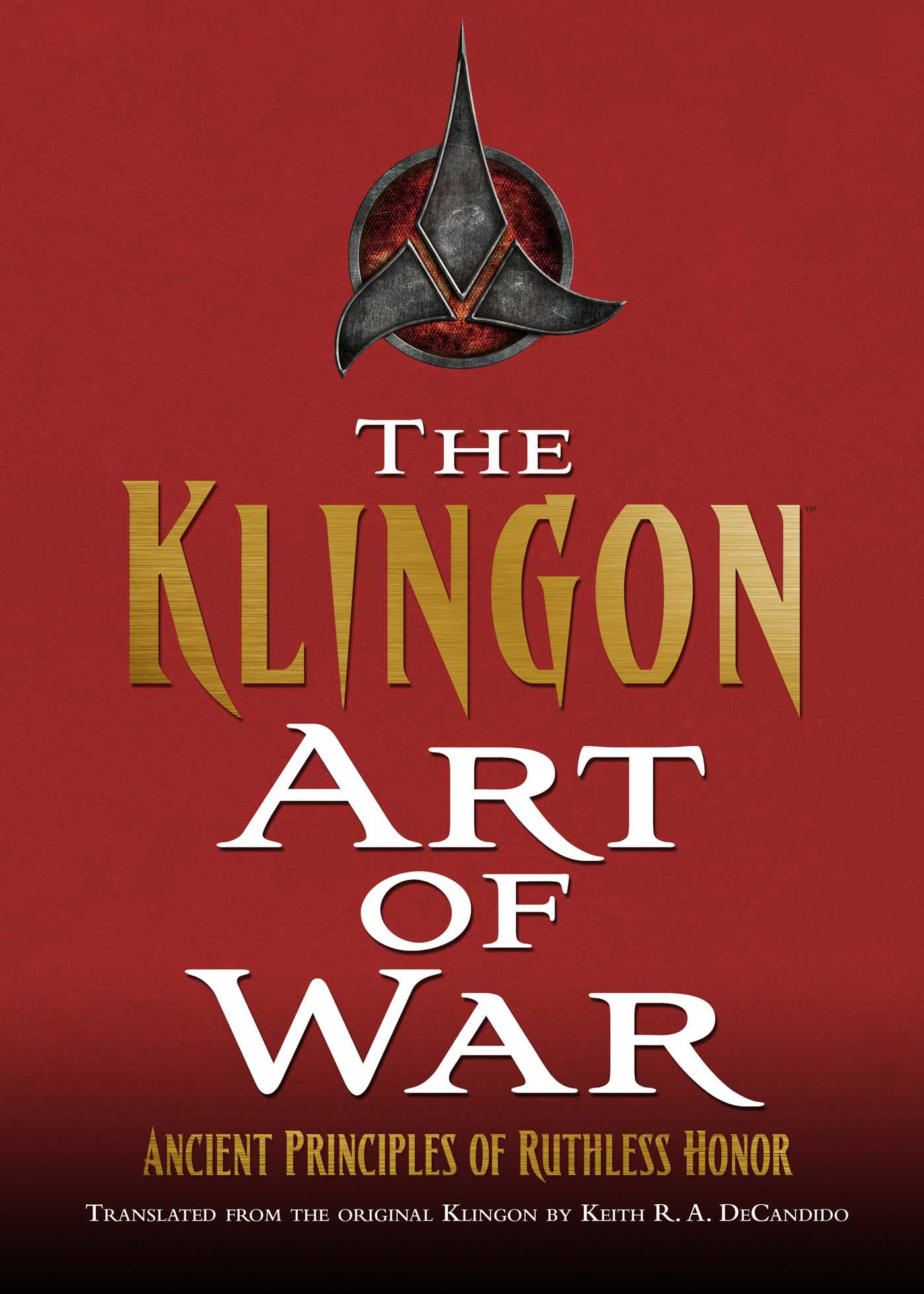 The klingon art of war 9781476757407 hr