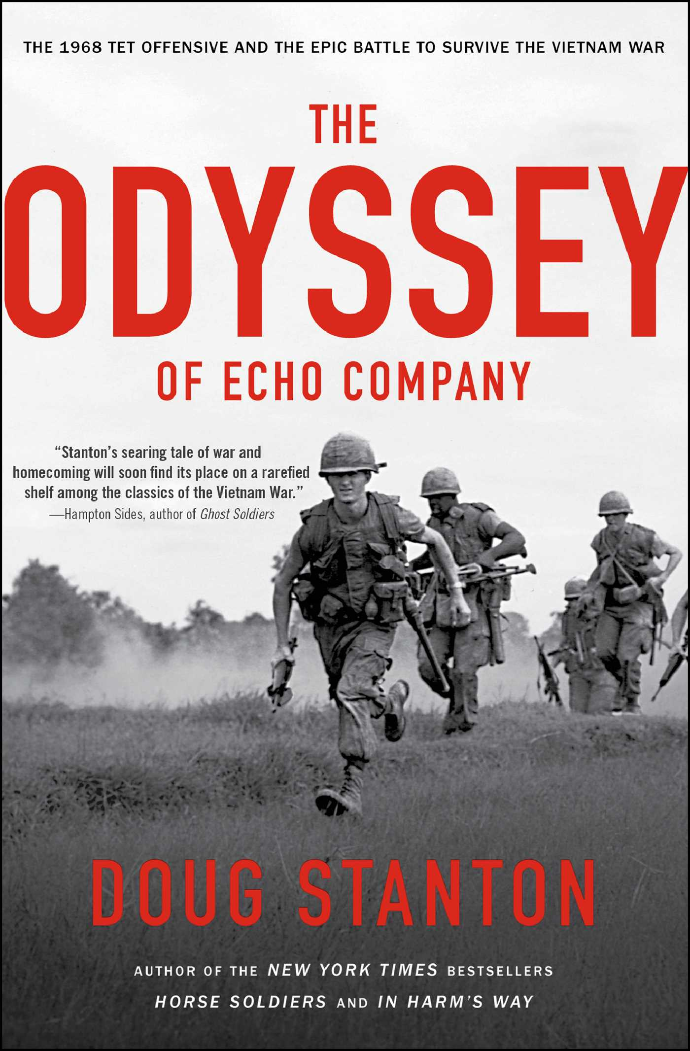 The odyssey of echo company 9781476761930 hr