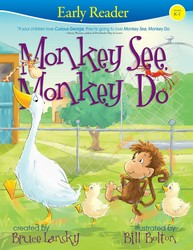 Monkey See, Monkey Do (Early Reader)