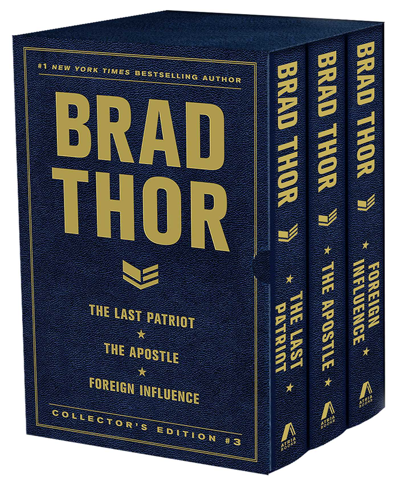 Brad thor collectors edition 3 9781476773643 hr