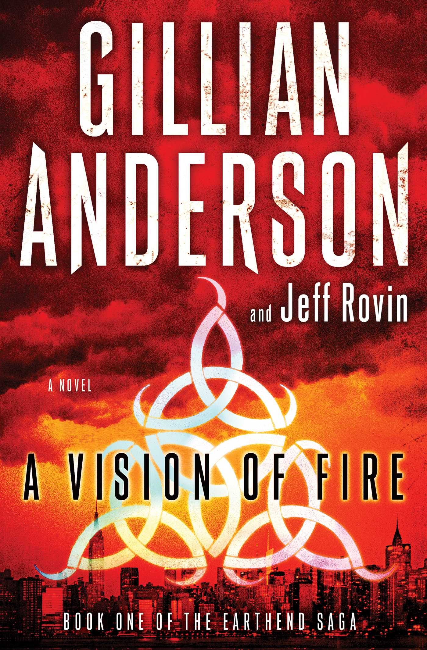 Gillian Anderson vision of fire