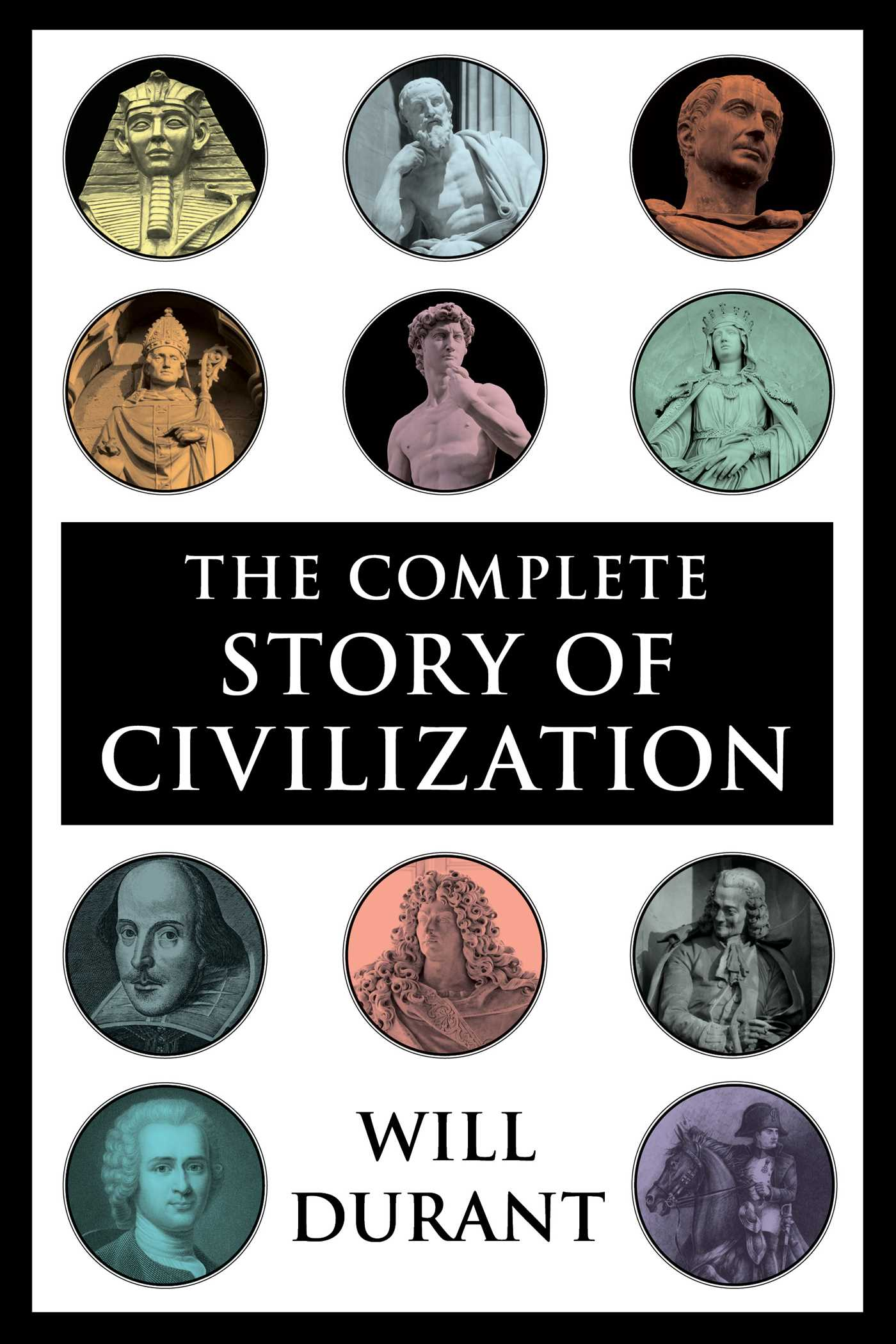 The Story of Civilization By Will and Ariel Durant Complete 11 Volume Set No DJs