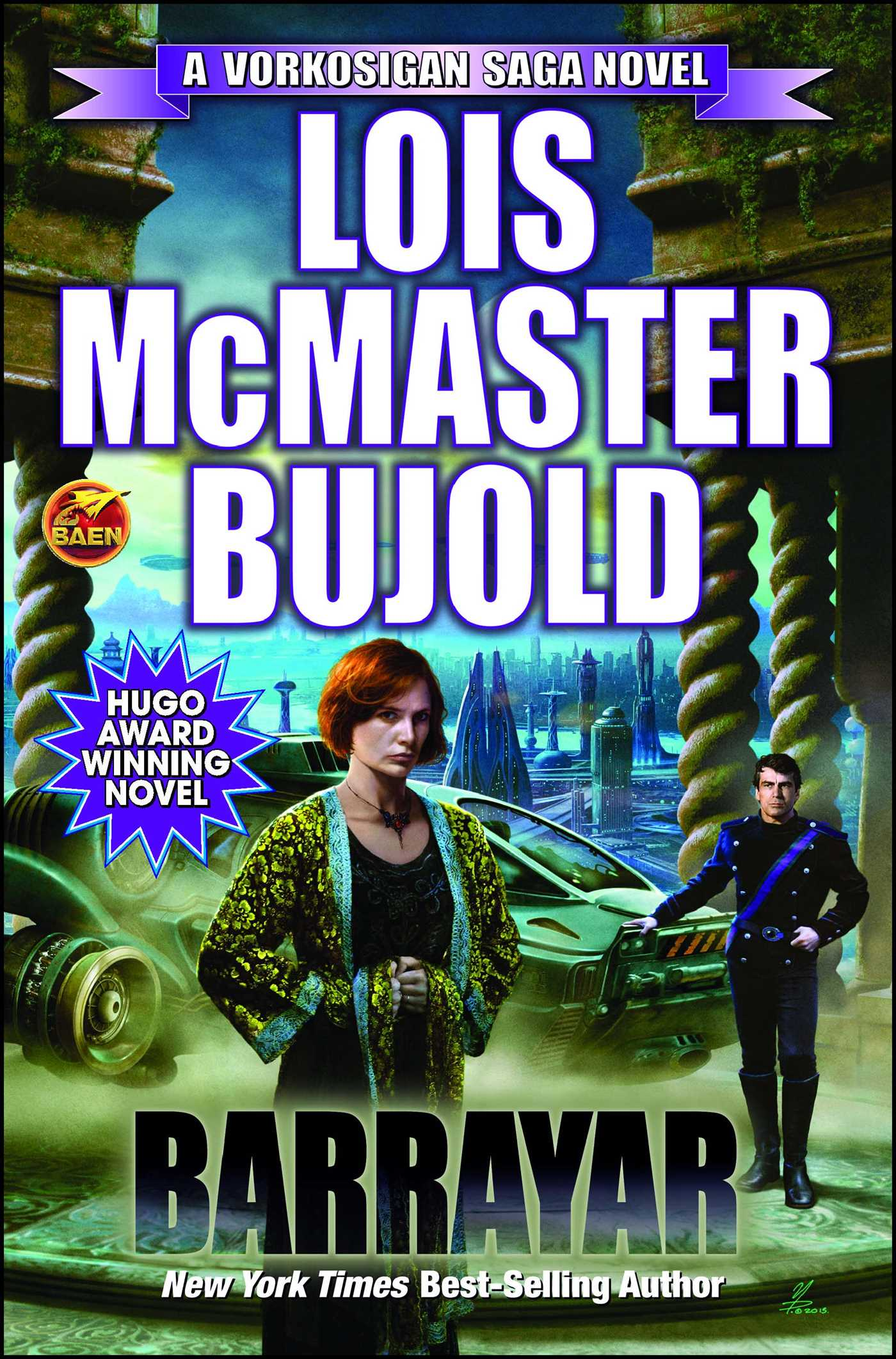 Barrayar Book By Lois Mcmaster Bujold Official