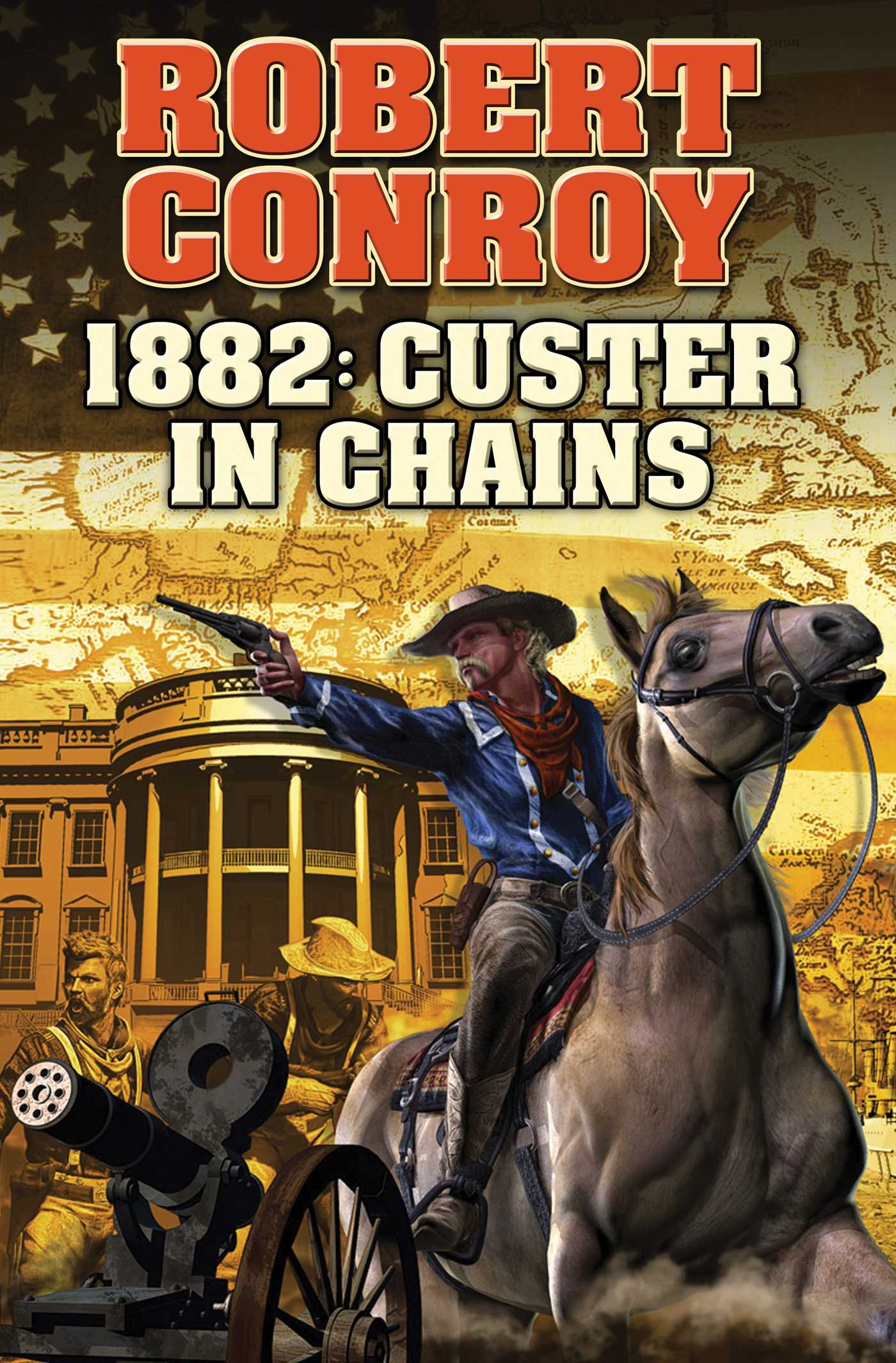 1882 custer in chains 9781476781426 hr