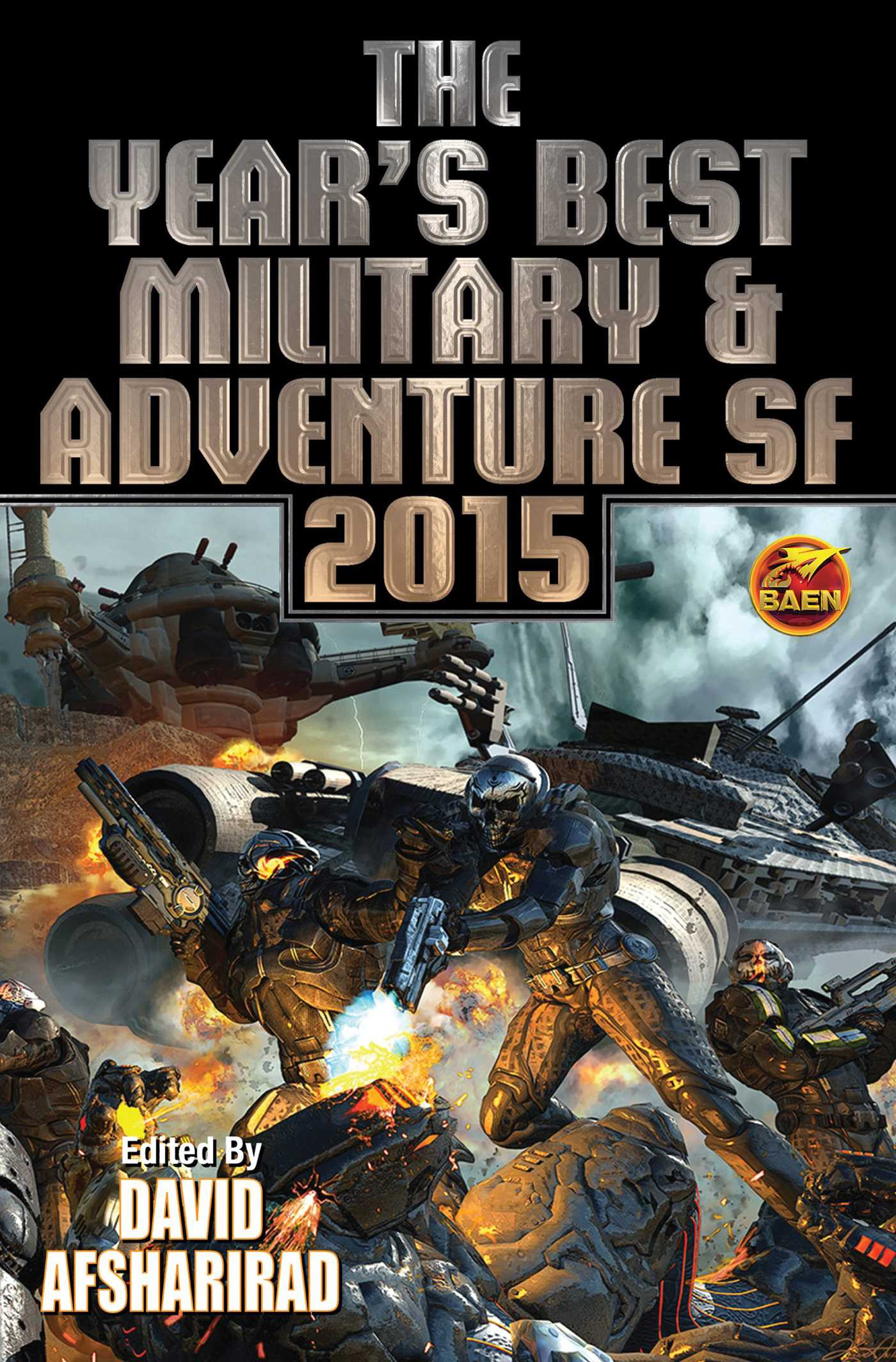 The years best military adventure sf 2015 9781476781778 hr