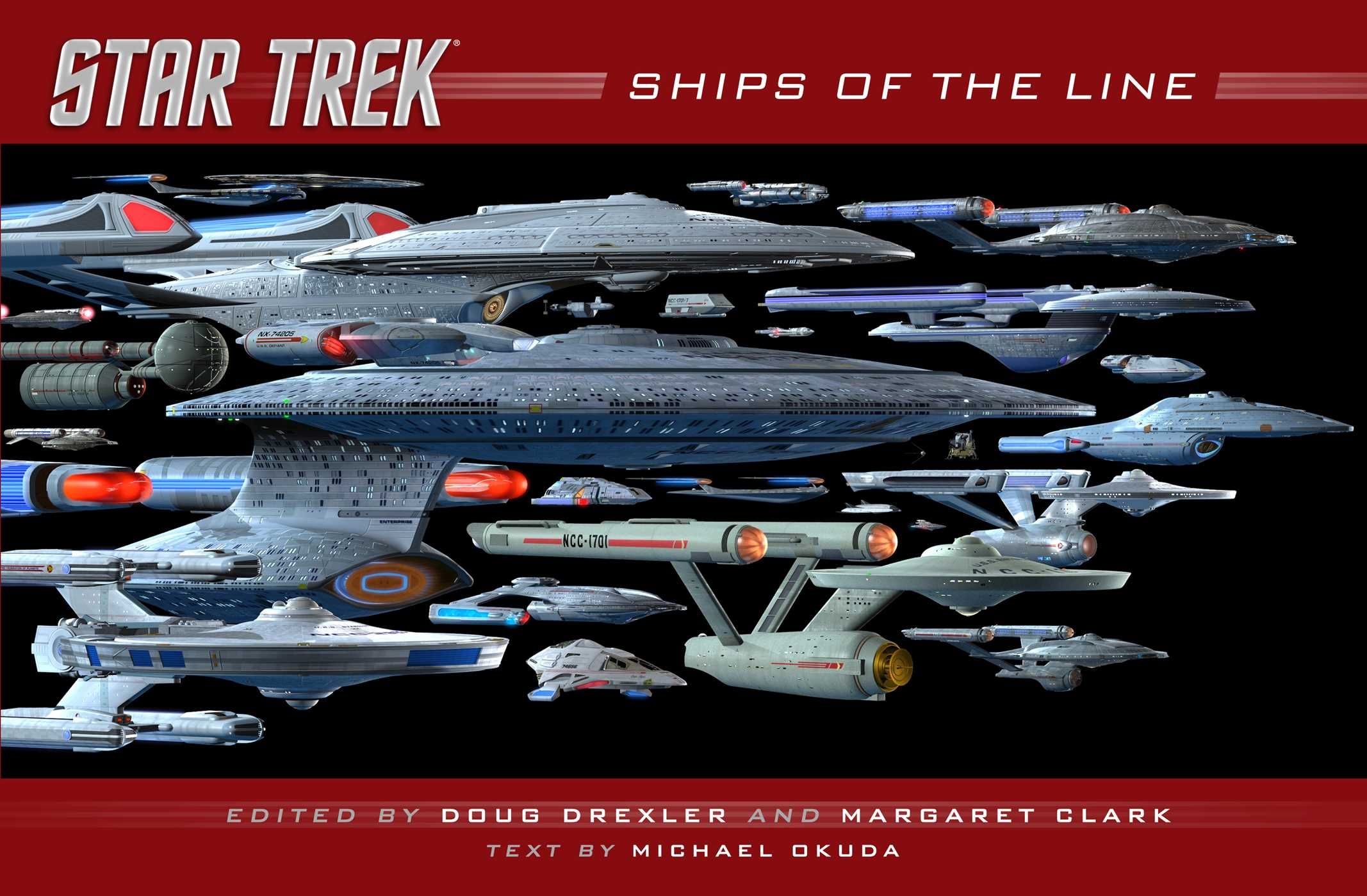 Star trek ships of the line 9781476782584 hr