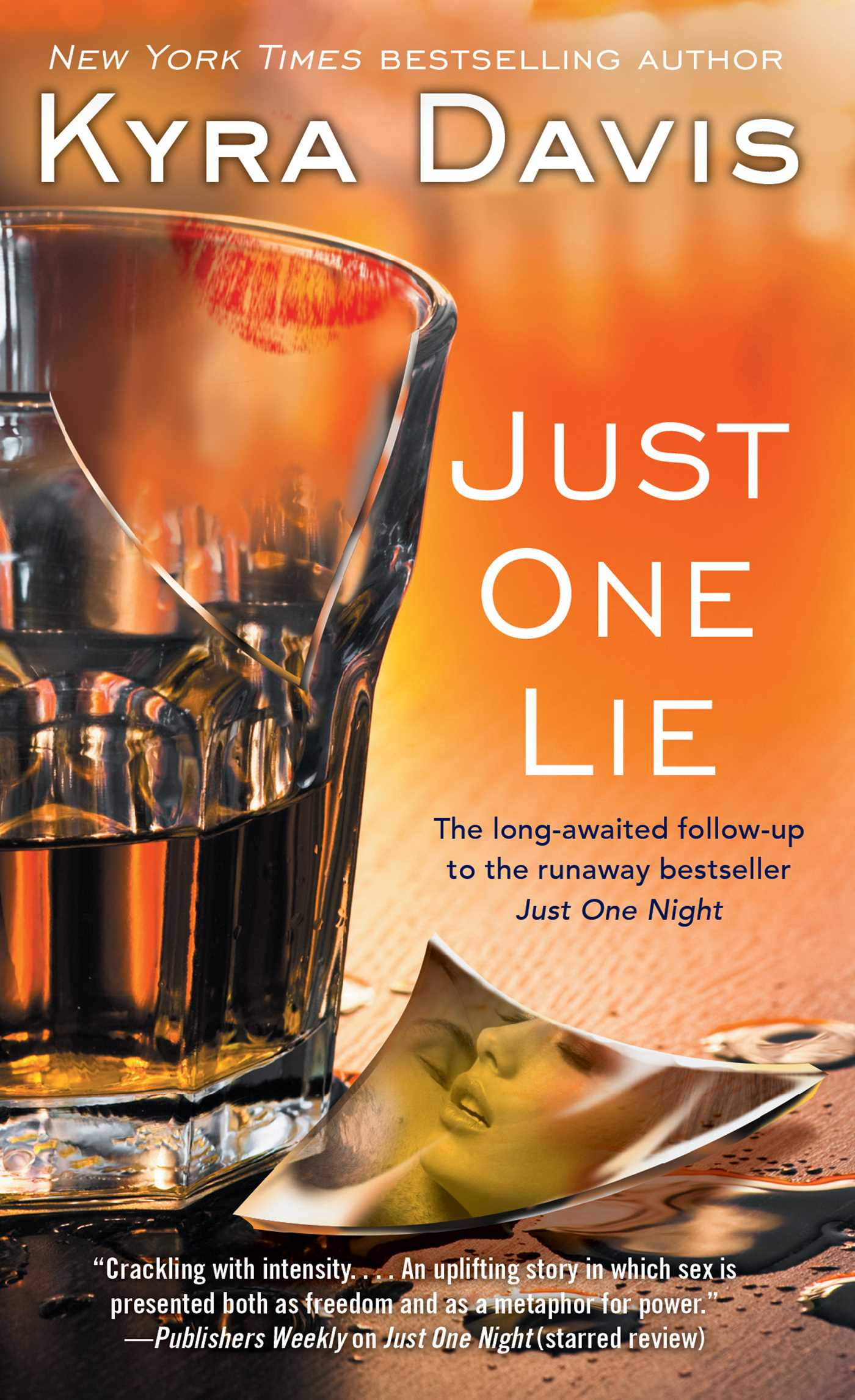 Just one lie 9781476783048 hr