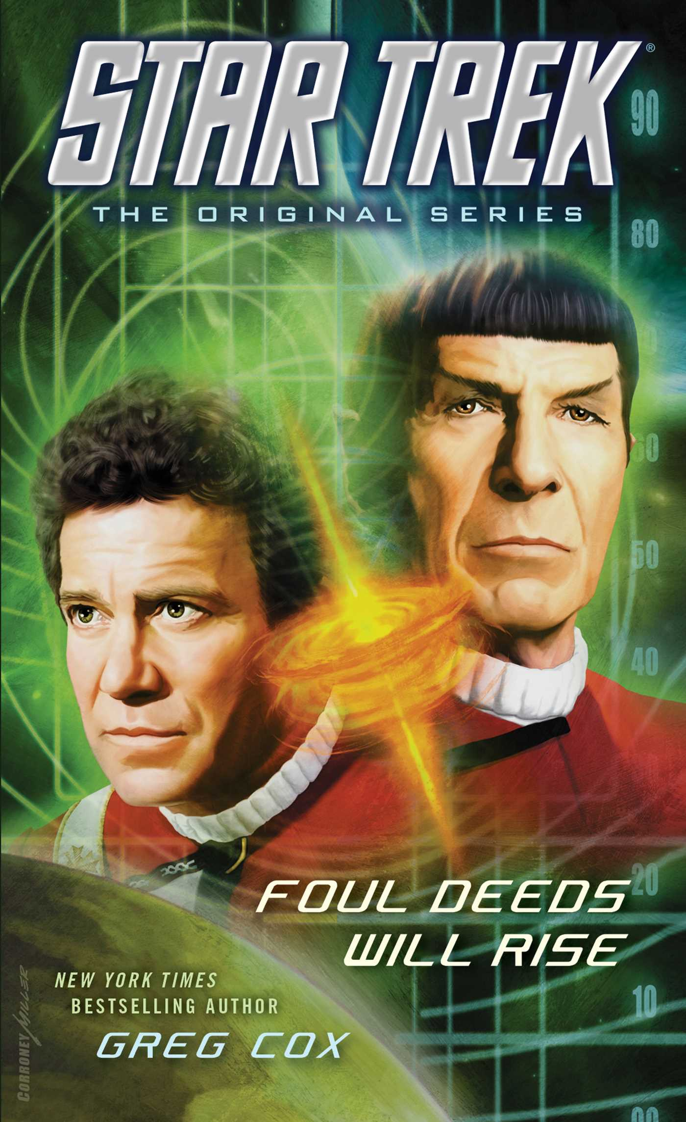 Star trek the original series foul deeds will 9781476783246 hr