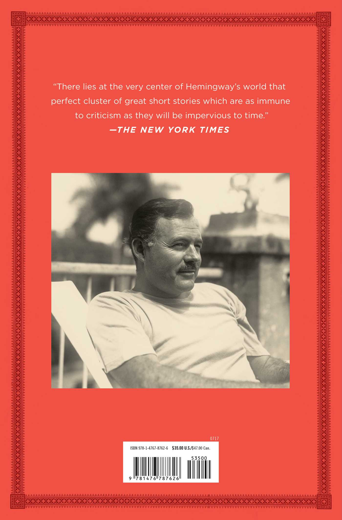 The short stories of ernest hemingway 9781476787626 hr back