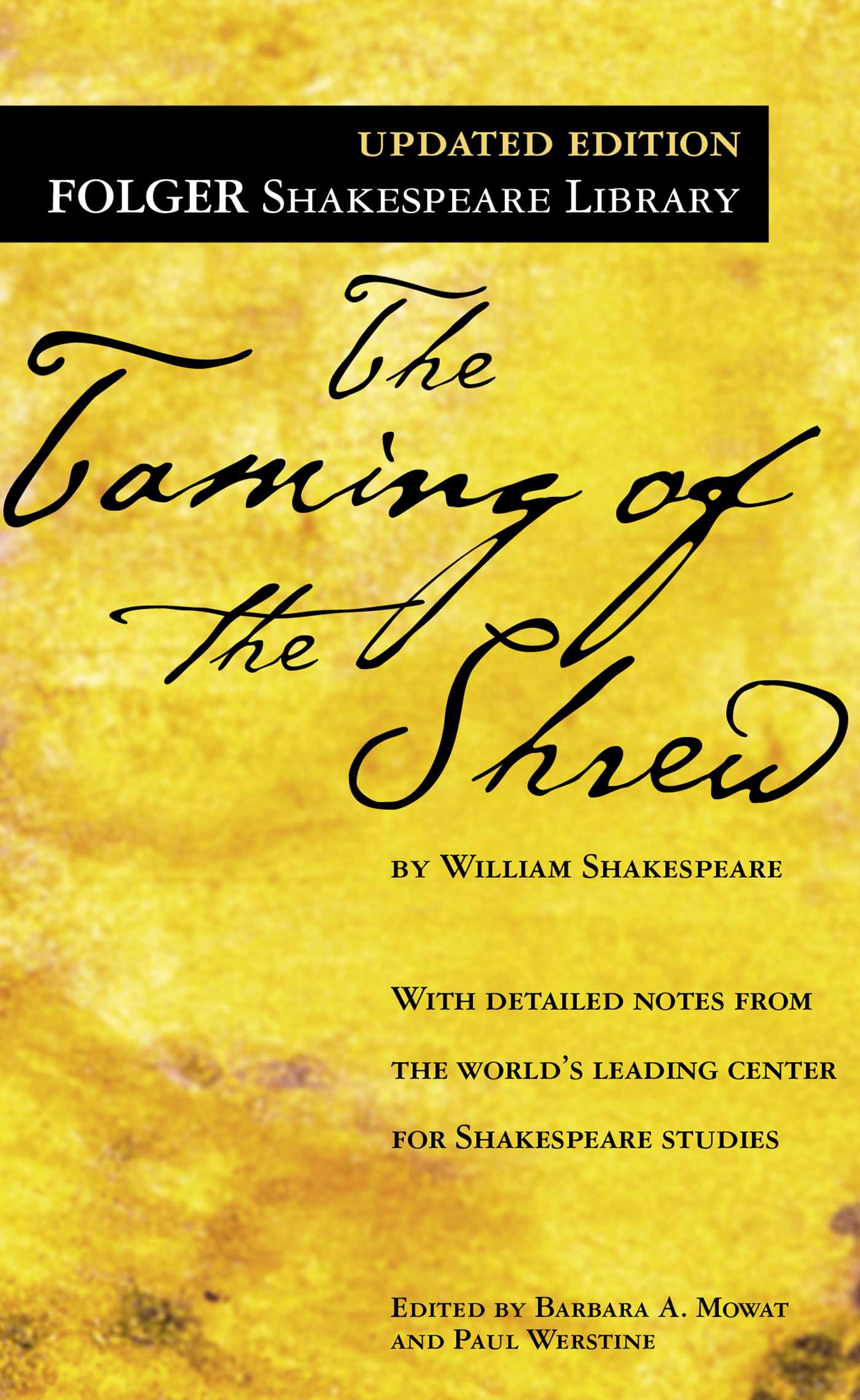 an analysis of the taming of the shrew by by william shakespeare Buy a cheap copy of the taming of the shrew book by william shakespeare folger shakespeare library the worlds leading center for shakespeare studies each edition includes: & #149 freshly.