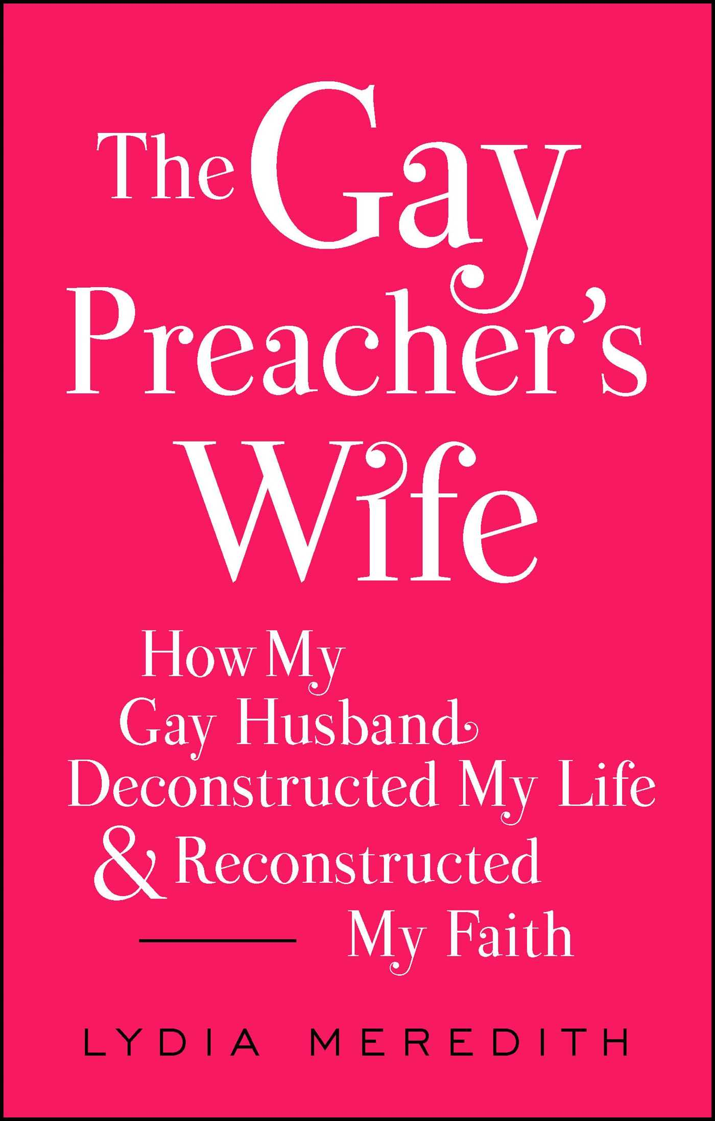 The gay preachers wife 9781476788944 hr