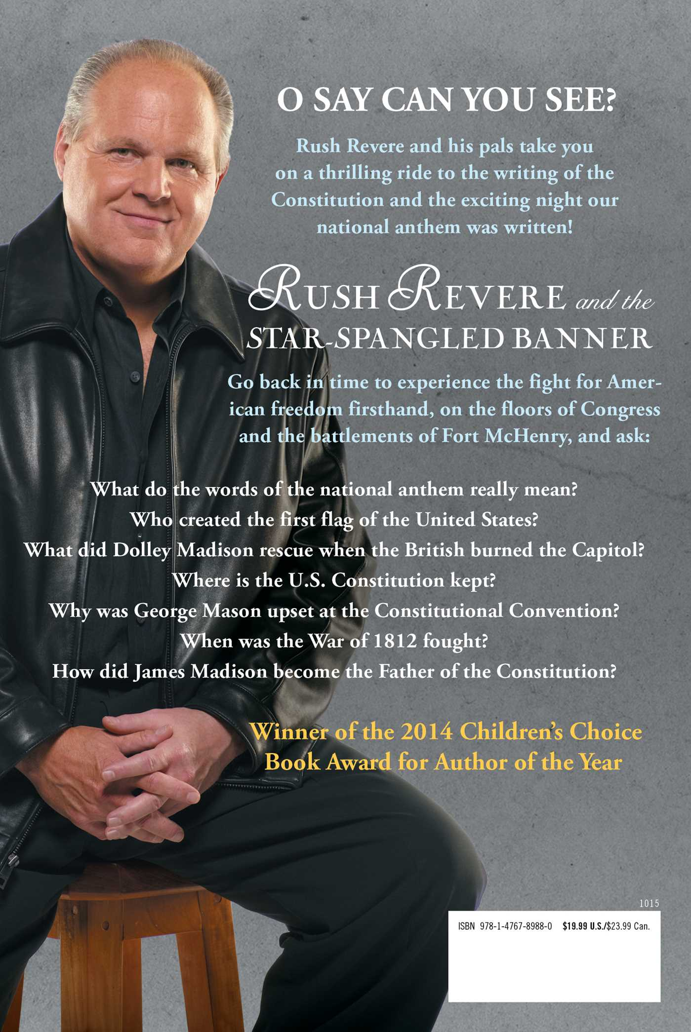 Rush revere and the star spangled banner 9781476789880 hr back