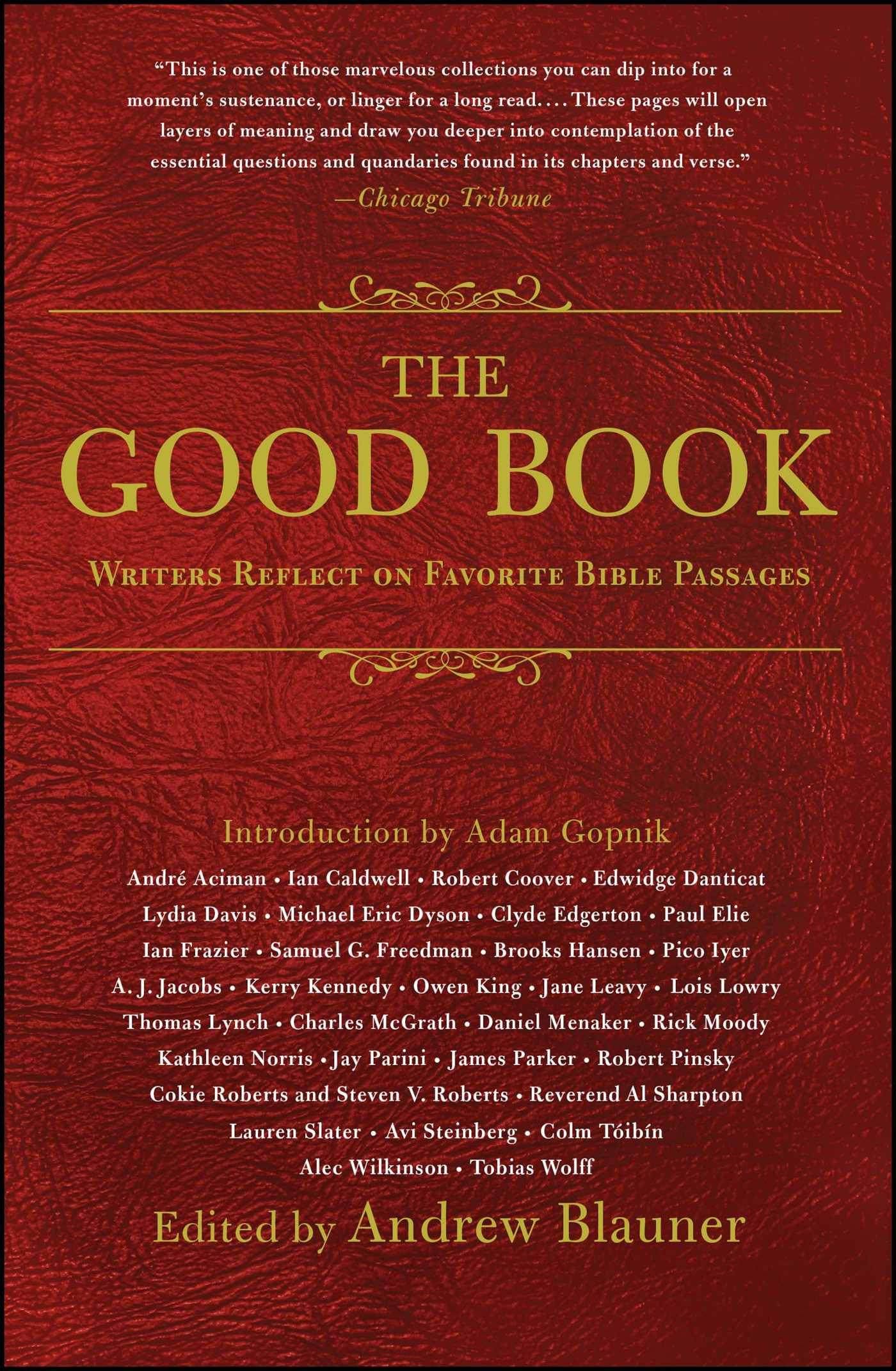 The good book 9781476789972 hr