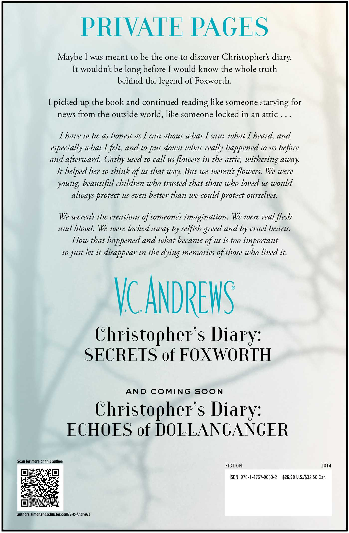 Christophers-diary-secrets-of-foxworth-9781476790602_hr-back