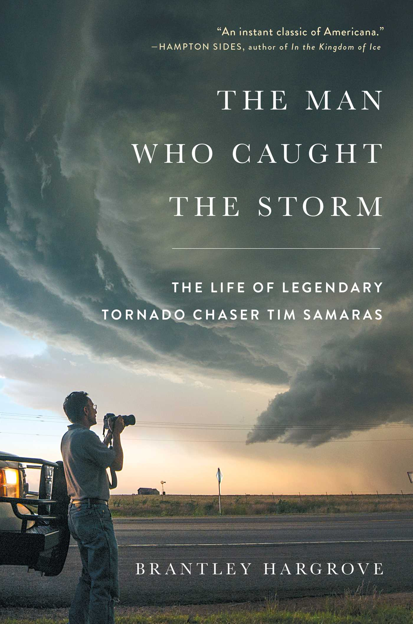 The man who caught the storm 9781476796093 hr