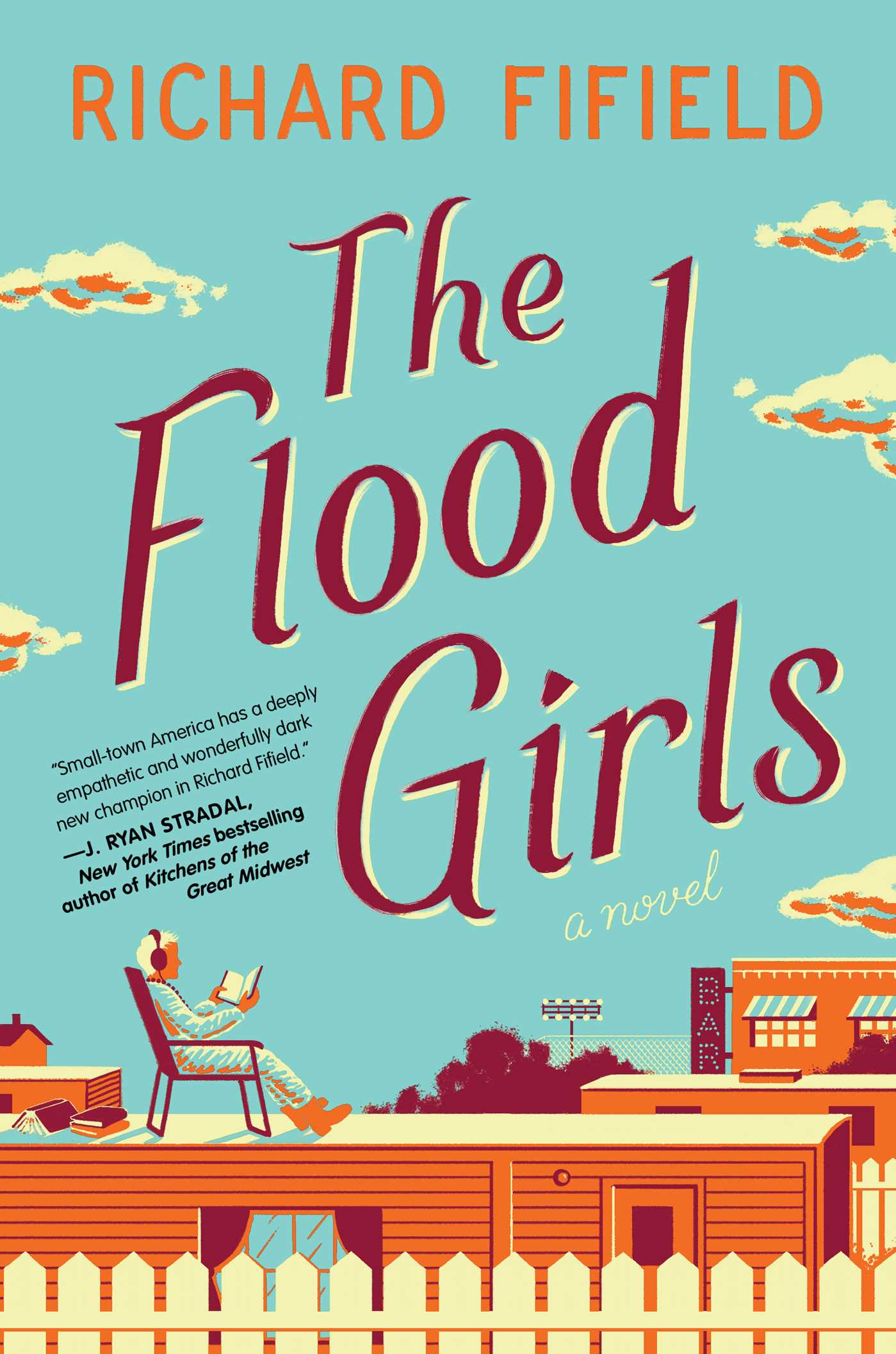 The flood girls 9781476797380 hr