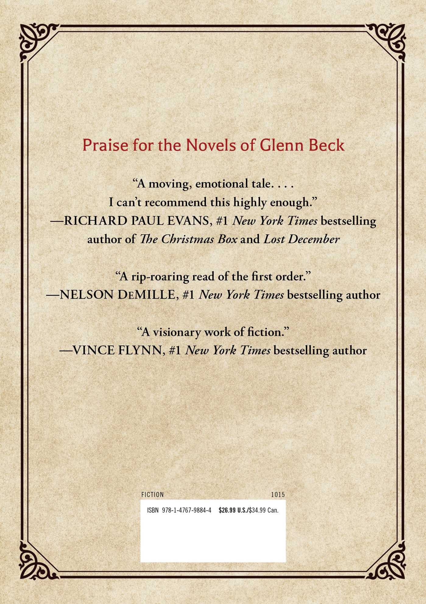 The Immortal Nicholas | Book by Glenn Beck | Official Publisher ...