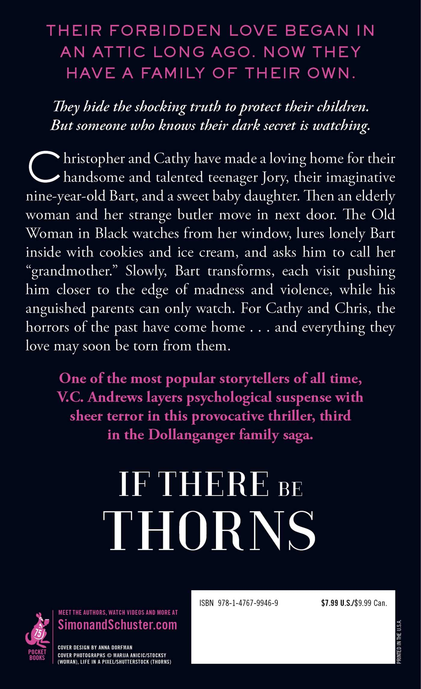 If There Be Thorns Book by V C Andrews ficial Publisher Page