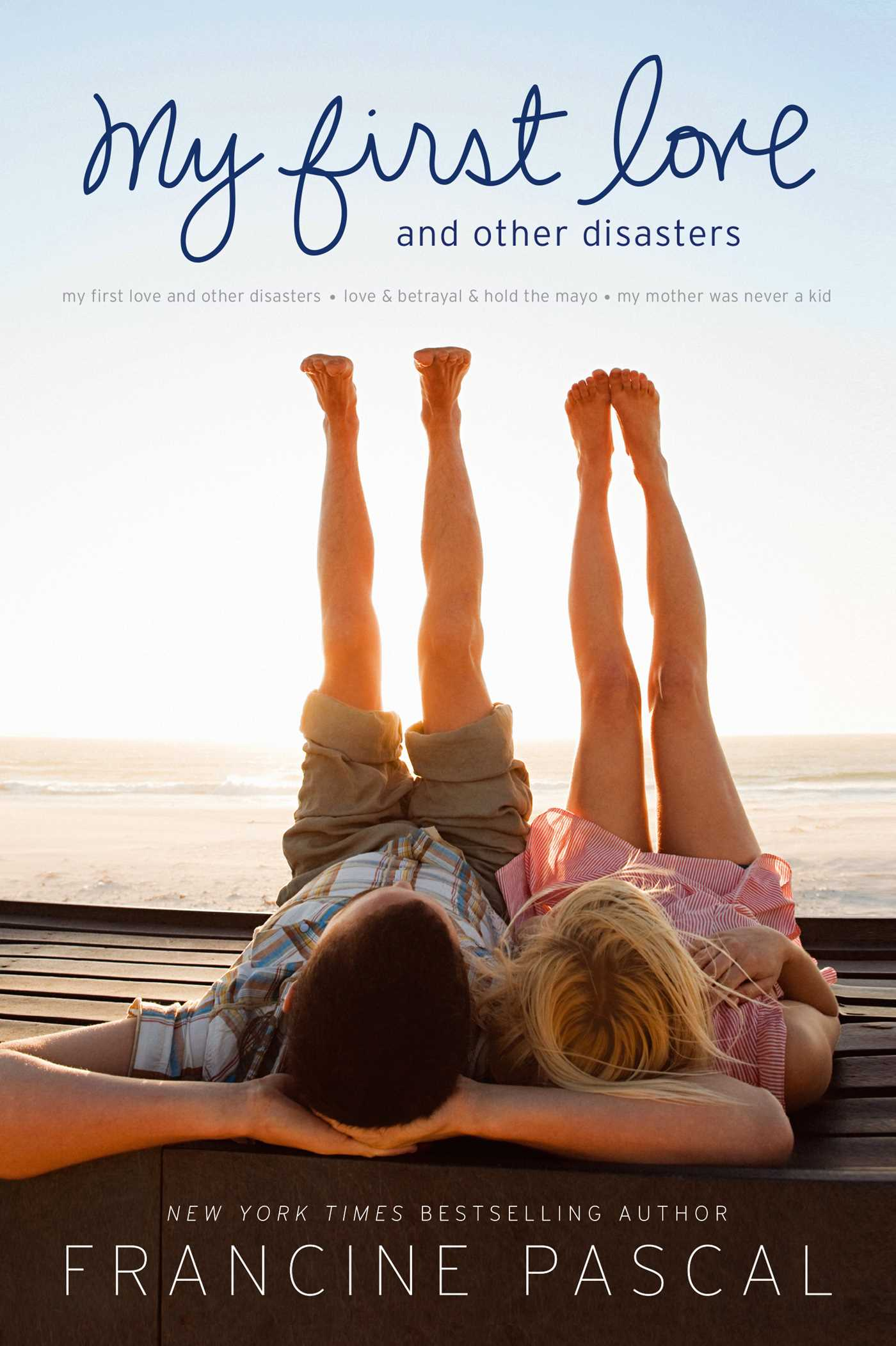 Book Cover About Love ~ My first love and other disasters book by francine