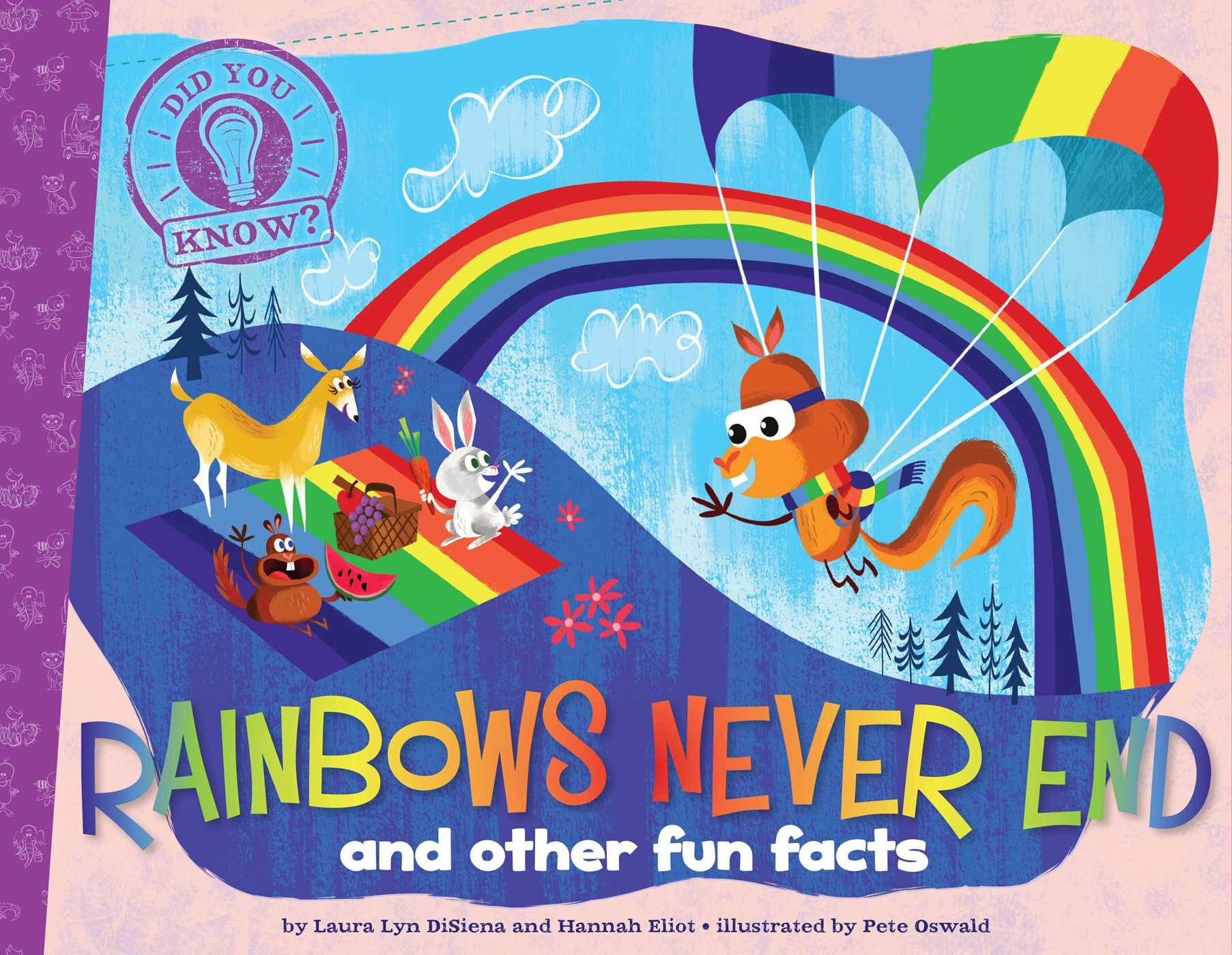 Superior Book Cover Image (jpg): Rainbows Never End