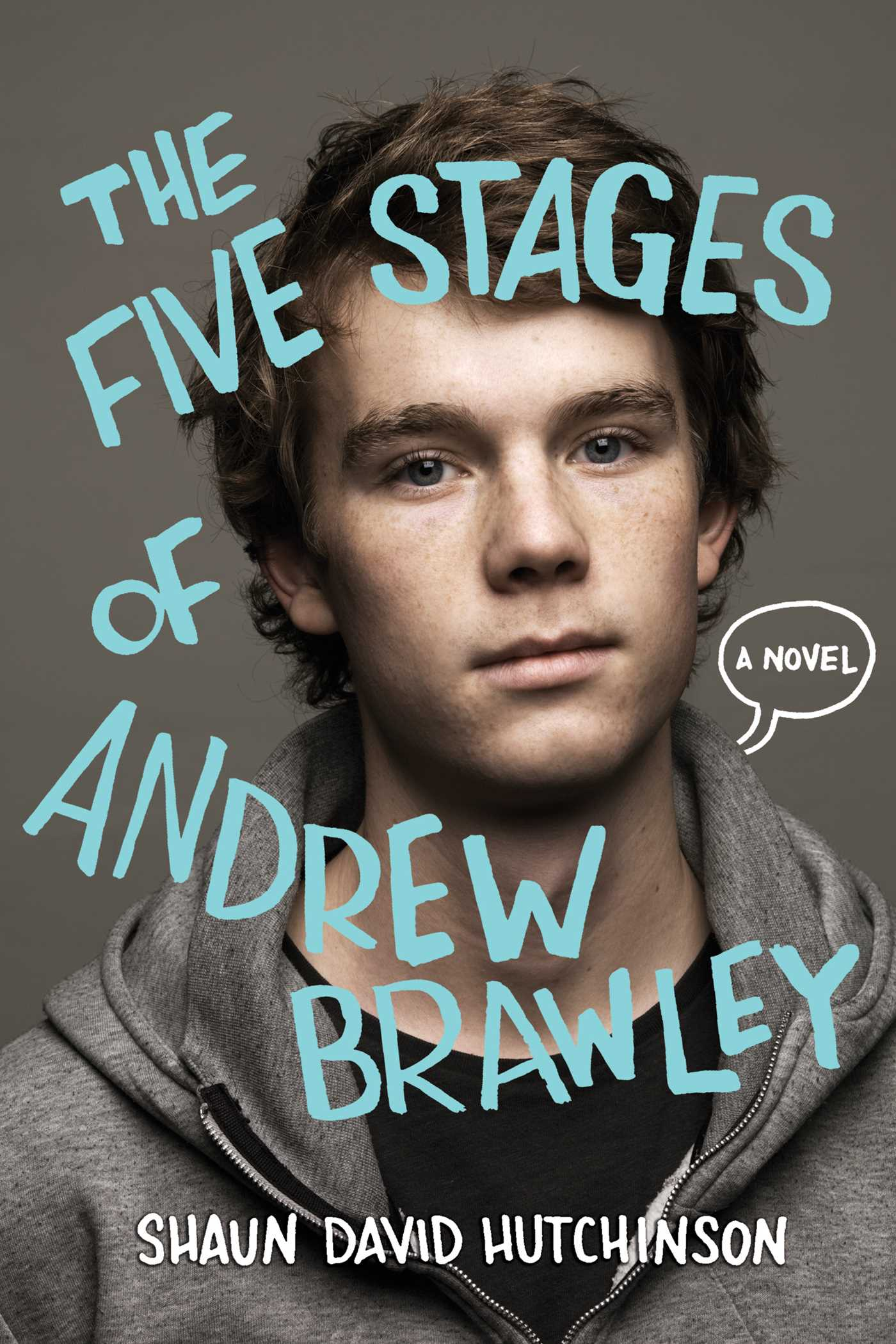 The five stages of andrew brawley 9781481403115 hr