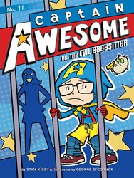 Captain-awesome-vs-the-evil-babysitter-9781481404464