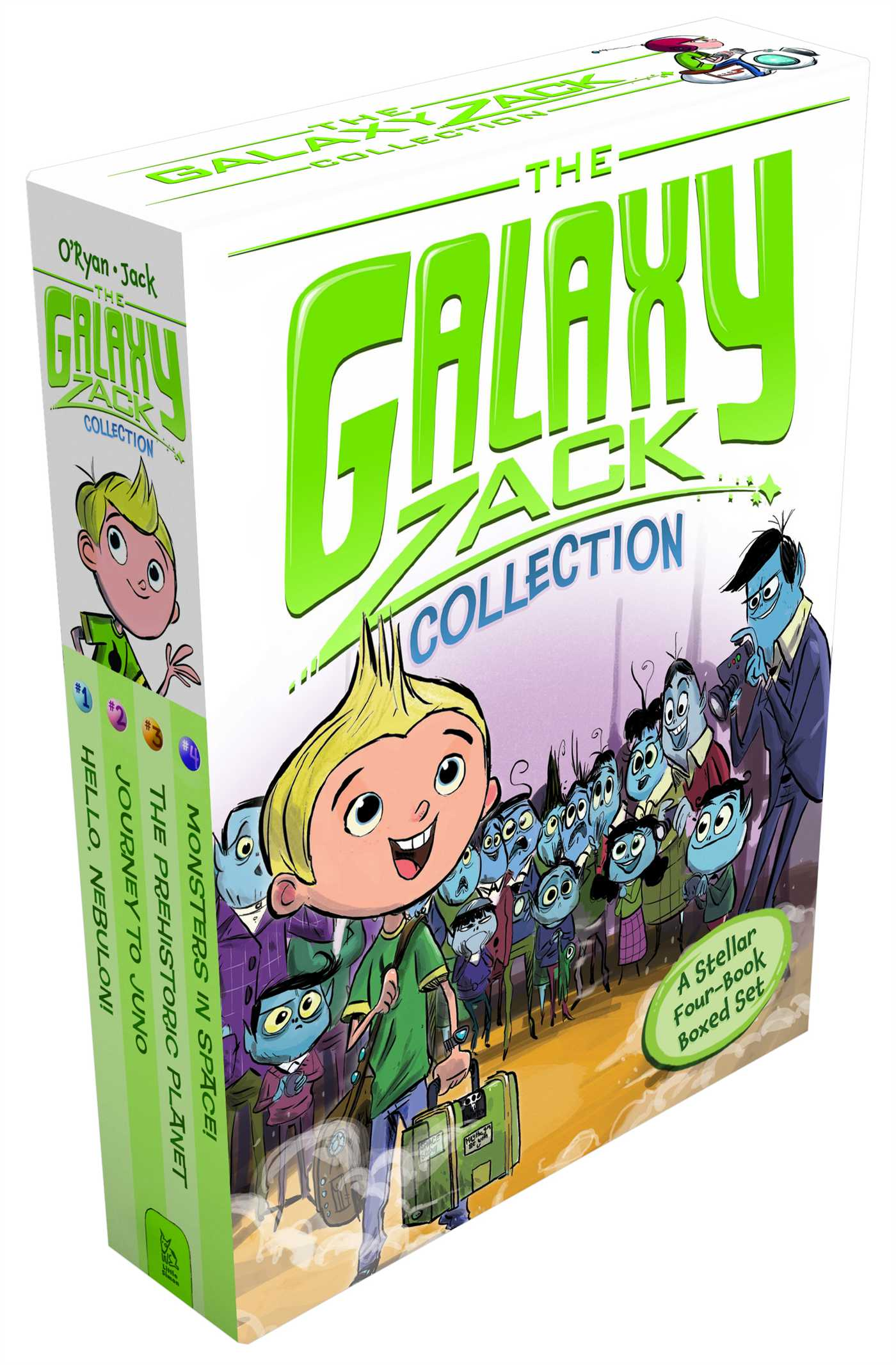 The galaxy zack collection 9781481406659 hr