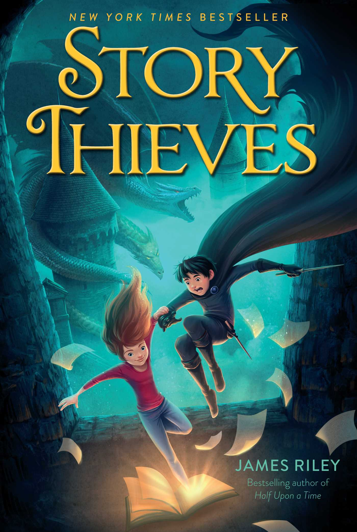 Story Thieves 9781481409216 Hr