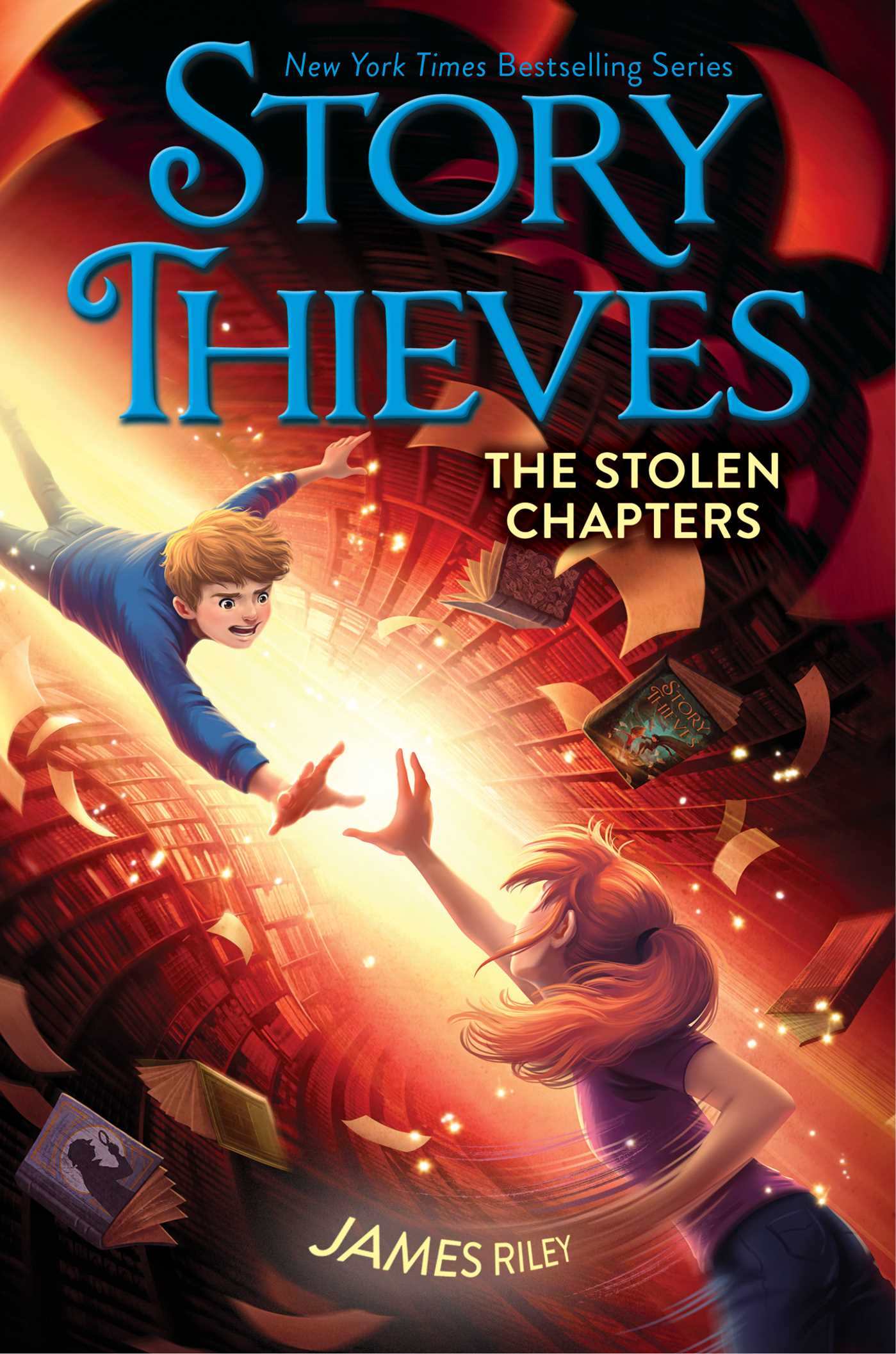 the stolen chapters book by james riley chris eliopoulos the stolen chapters 9781481409223 hr