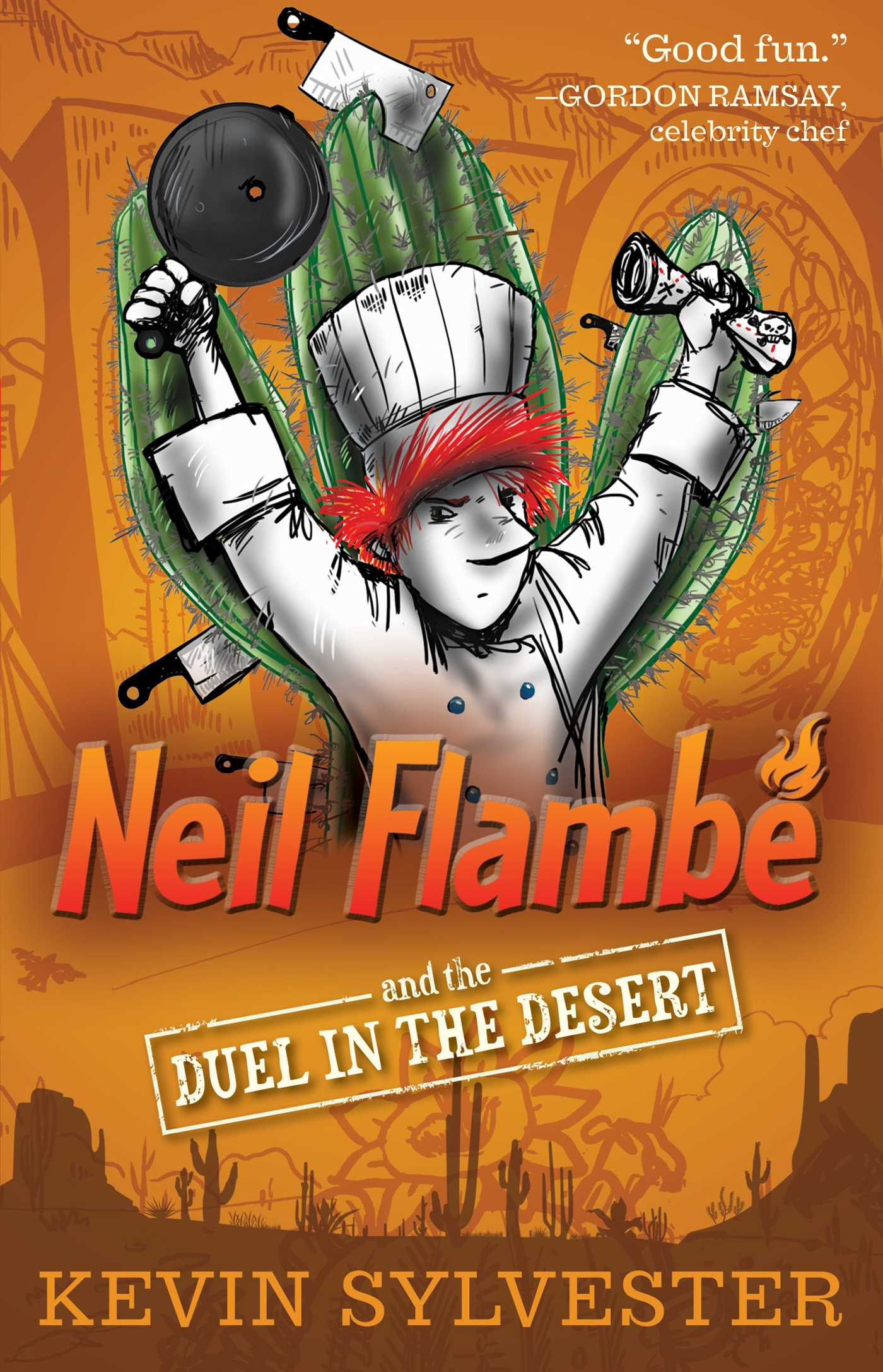 Neil flambe and the duel in the desert 9781481410427 hr