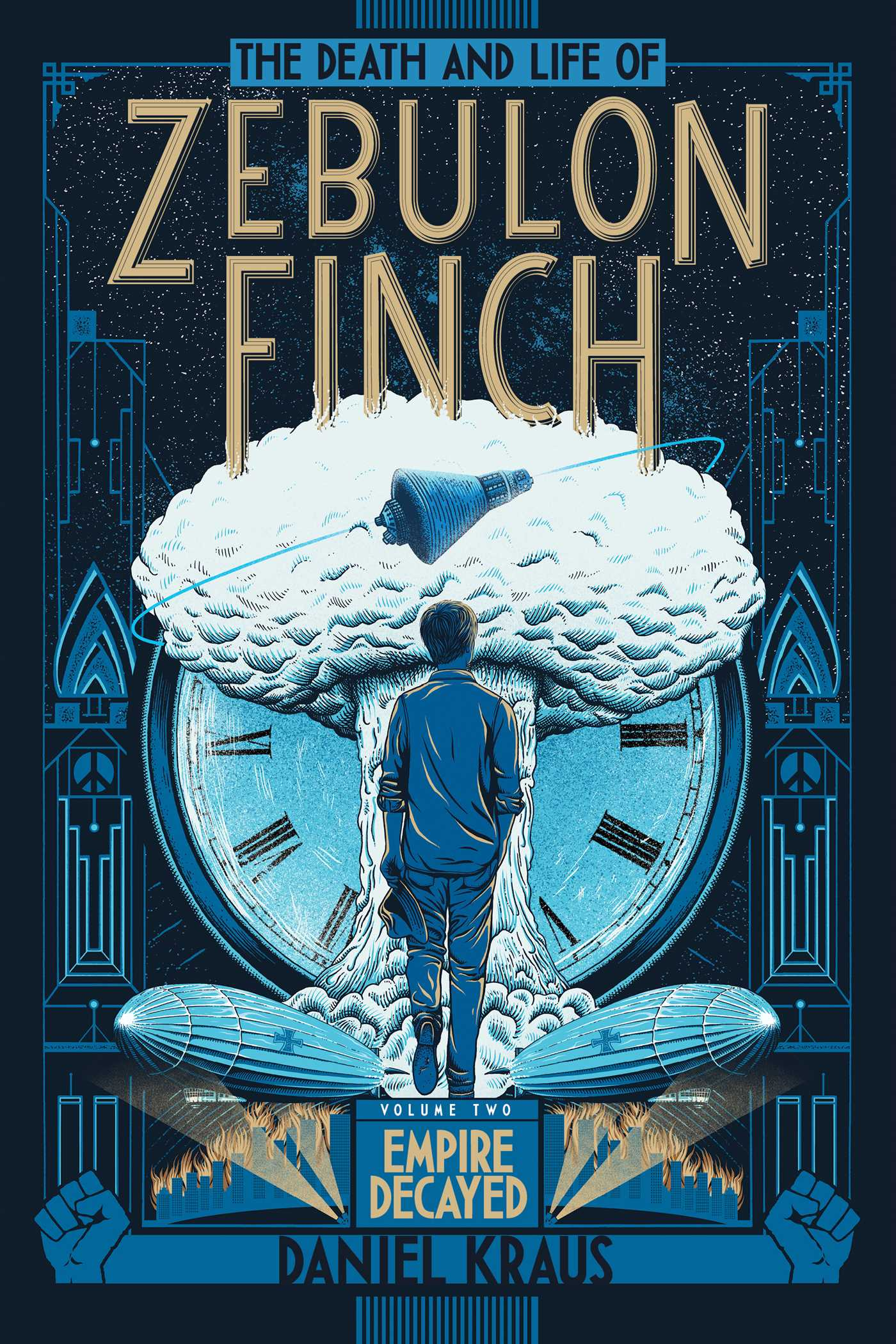 The death and life of zebulon finch volume two 9781481411424 hr