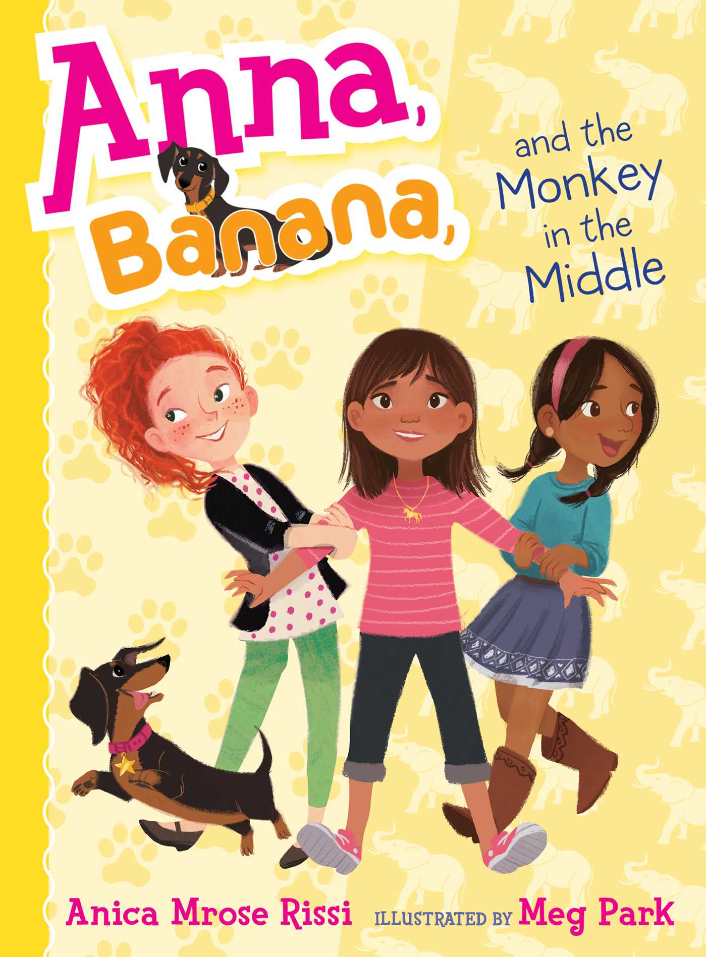 Anna banana and the monkey in the middle 9781481416092 hr