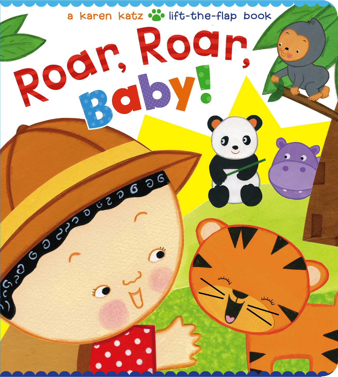Book Cover Image (jpg): Roar, Roar, Baby!