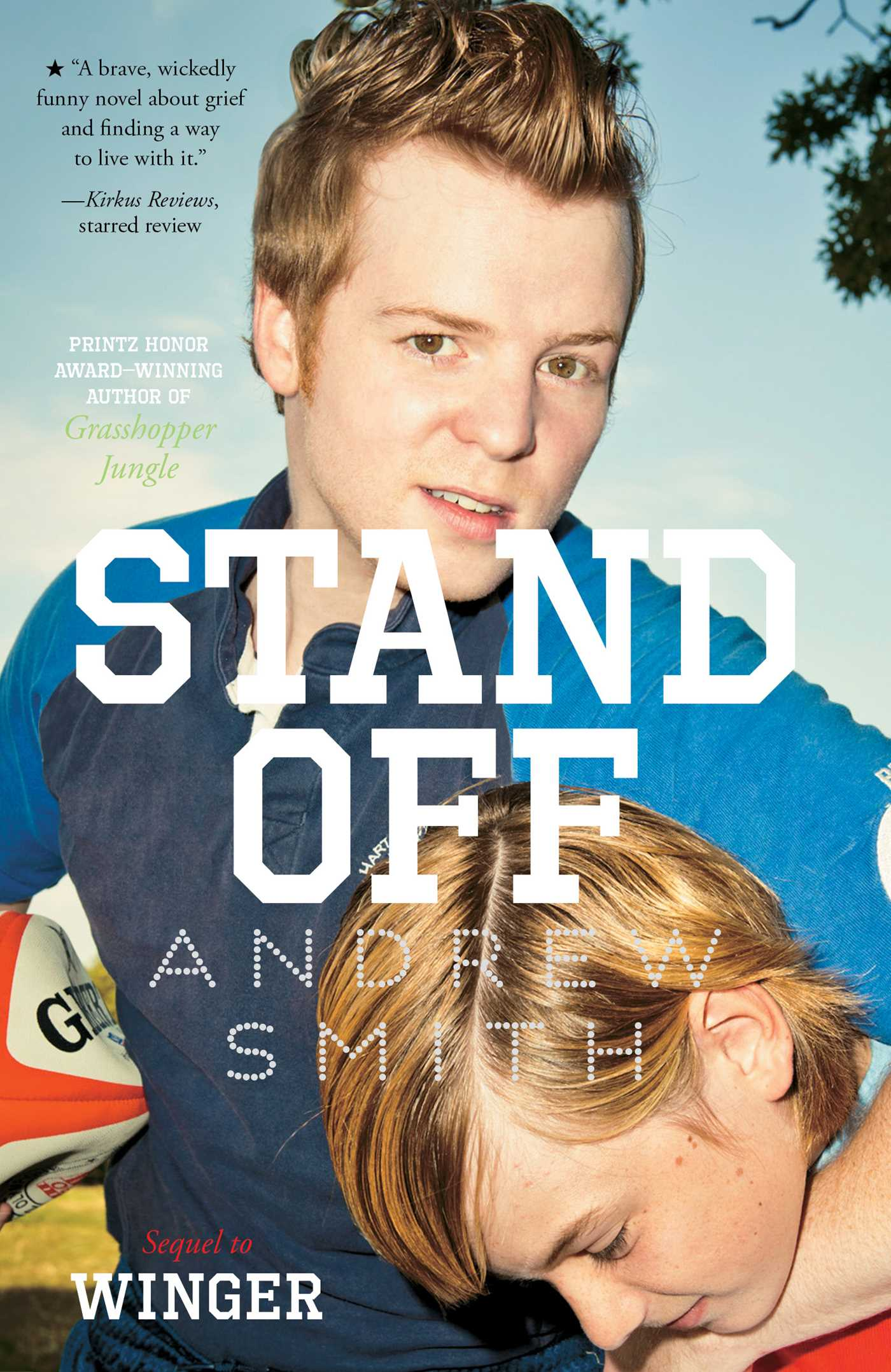 stand off book by andrew smith sam bosma official publisher