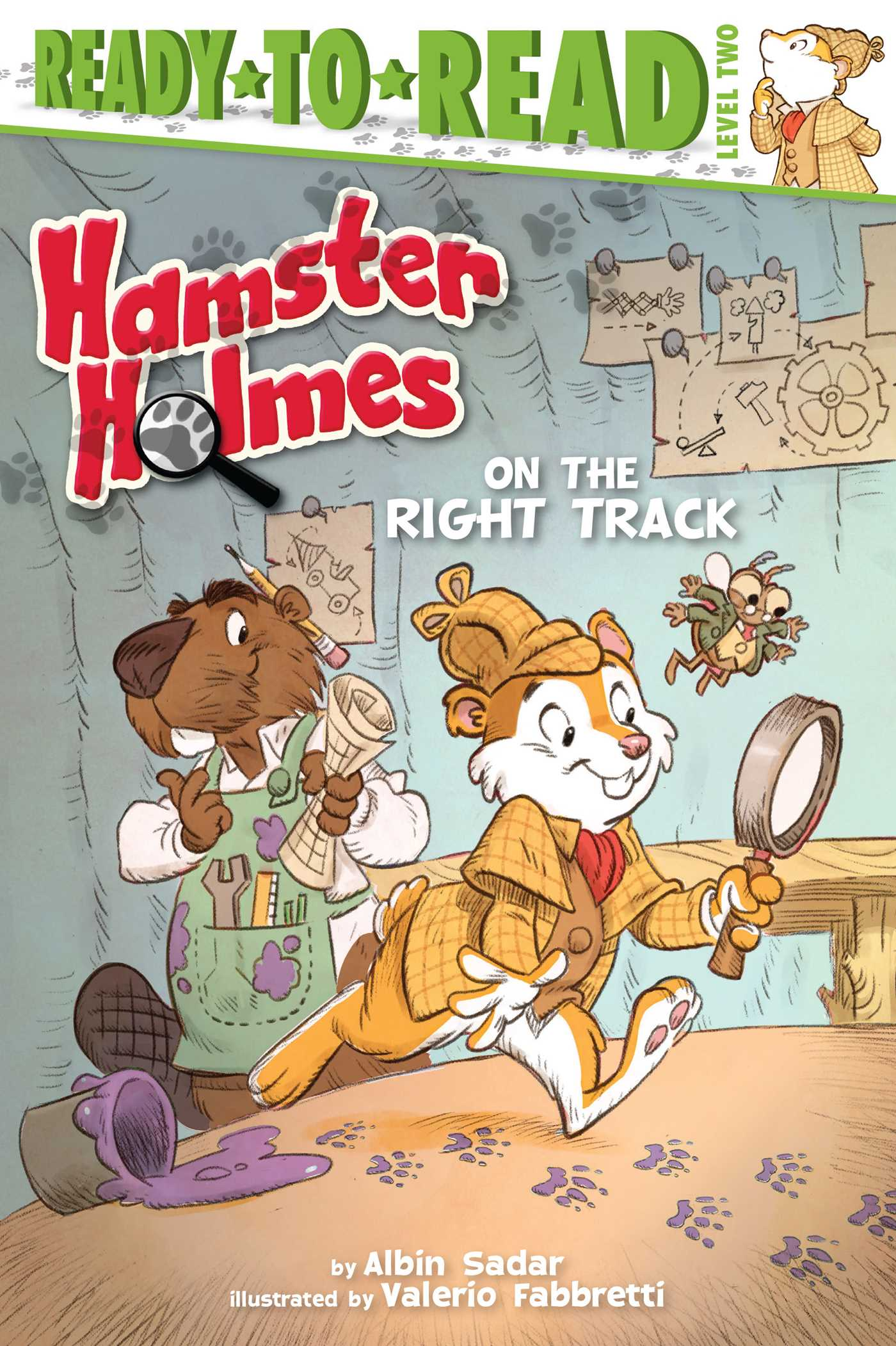 Hamster holmes on the right track 9781481420426 hr