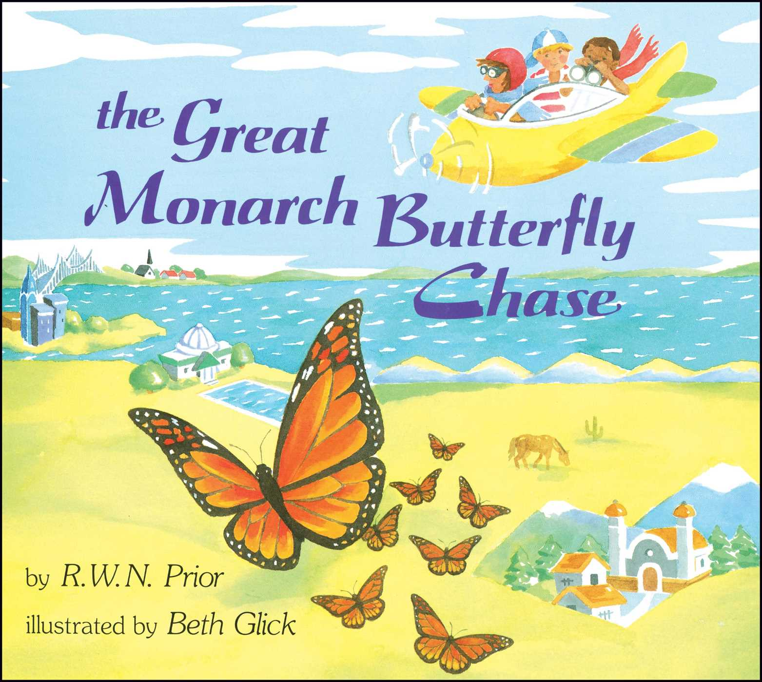 The great monarch butterfly chase 9781481421577 hr
