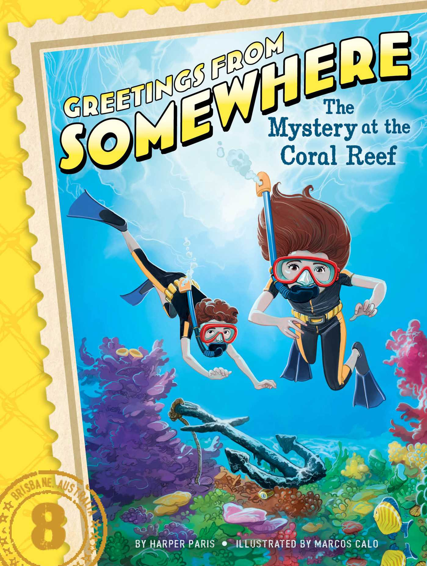 The Mystery at the Coral Reef | Book by Harper Paris, Marcos Calo ...
