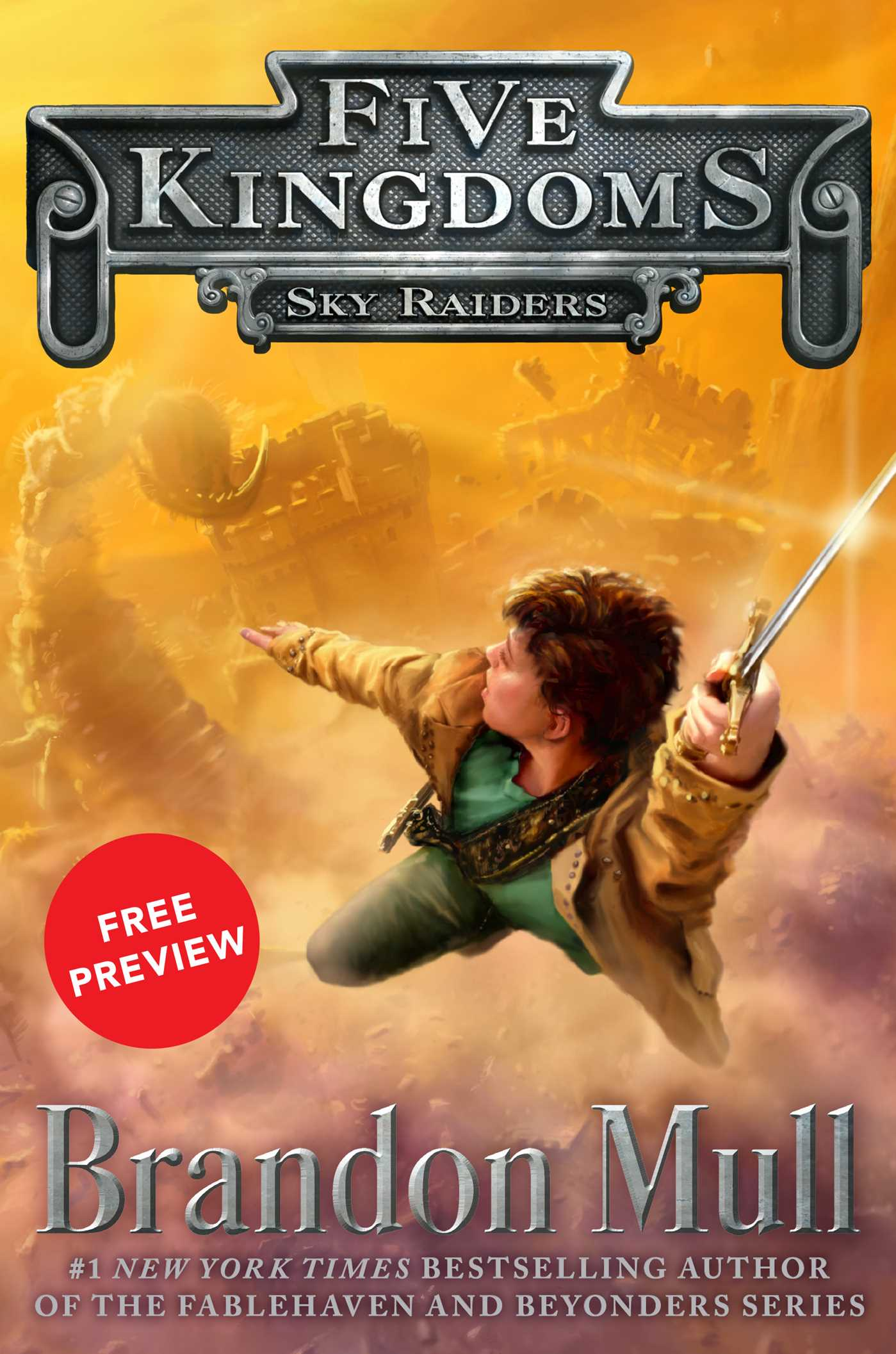 Sky raiders free preview edition 9781481425483 hr