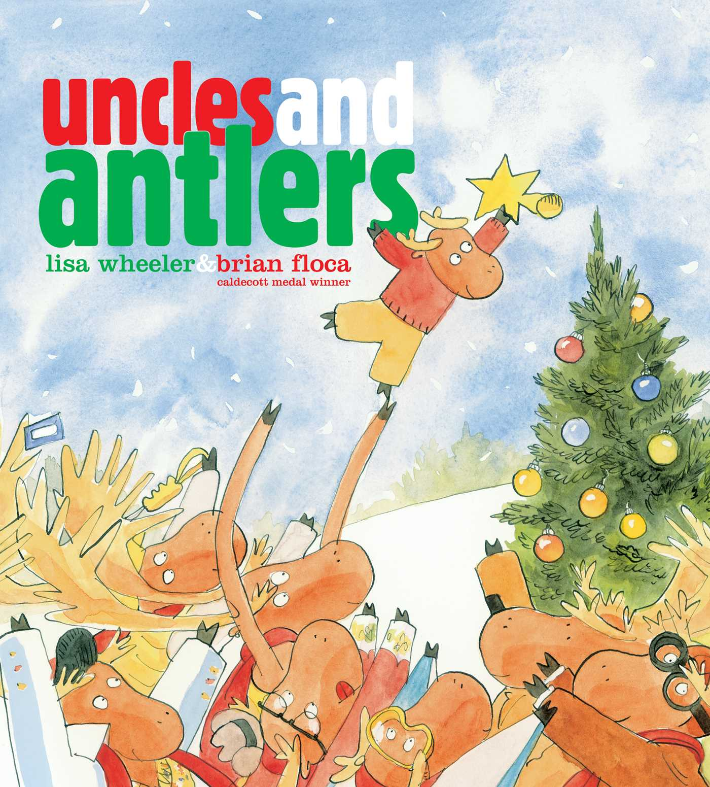 Uncles and antlers 9781481430180 hr
