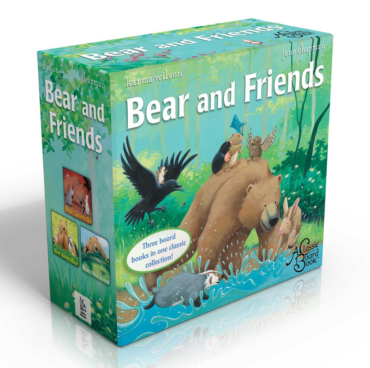Bear and friends 9781481430333 hr