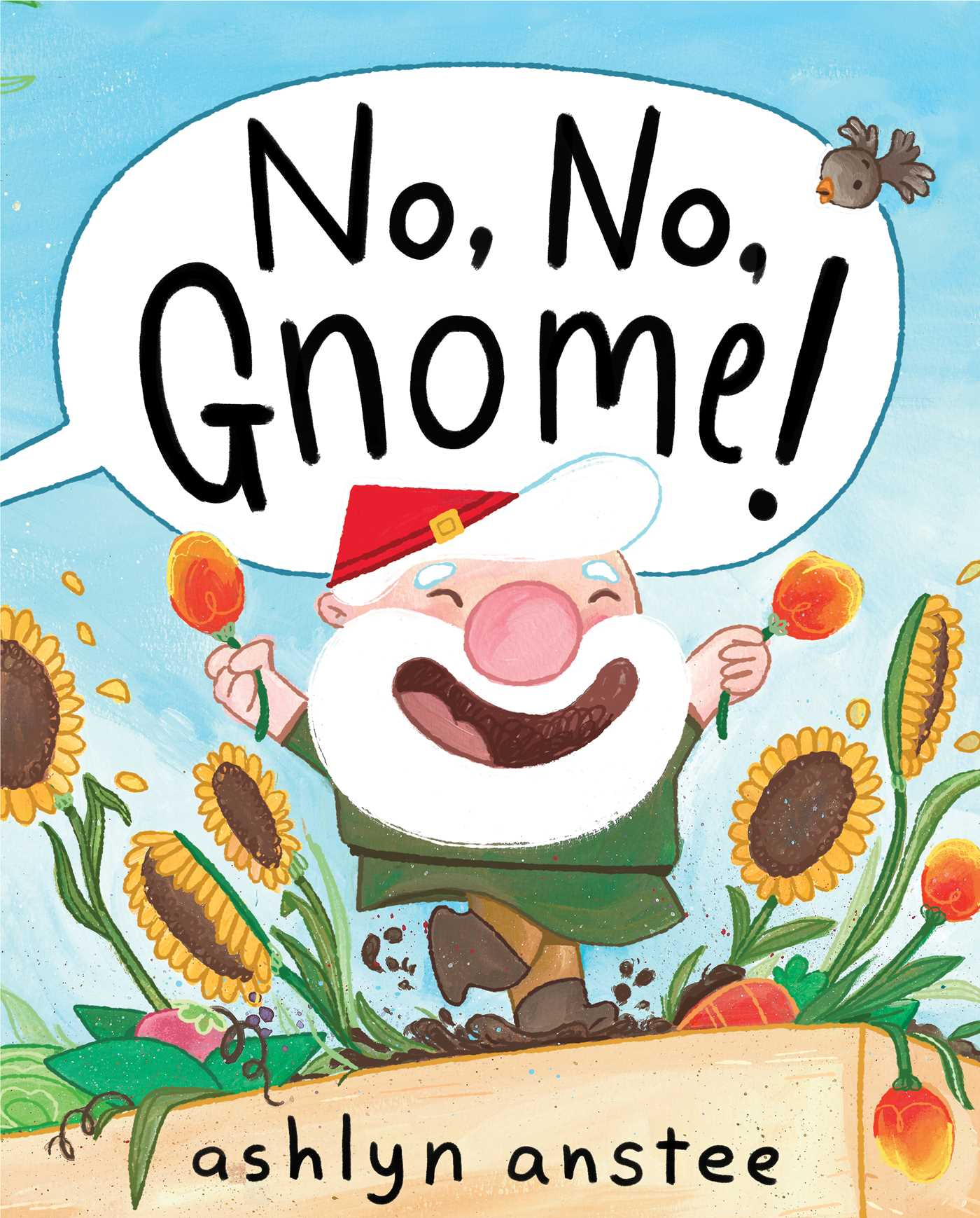 No no gnome 9781481430913 hr