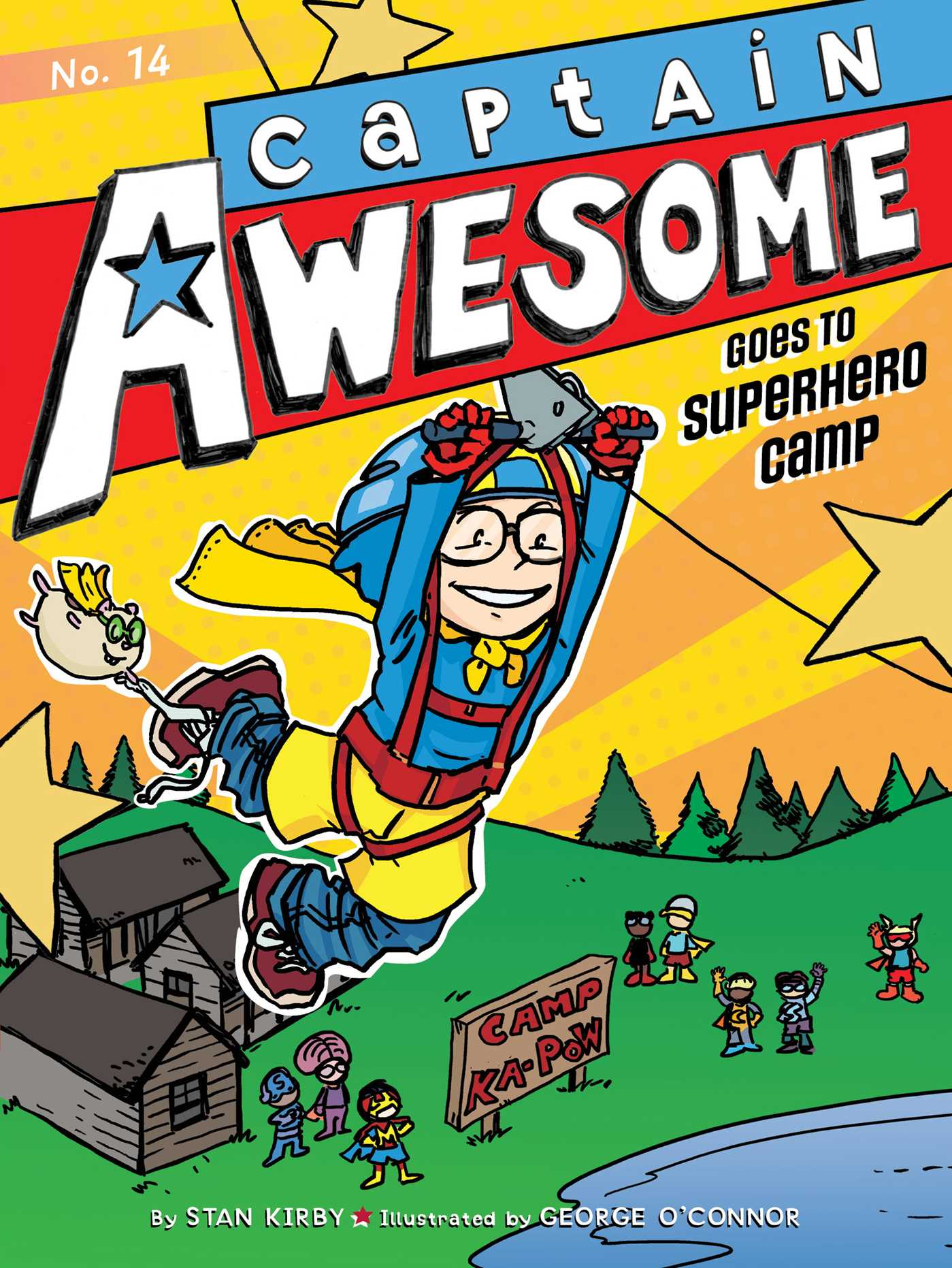 Captain awesome goes to superhero camp 9781481431538 hr