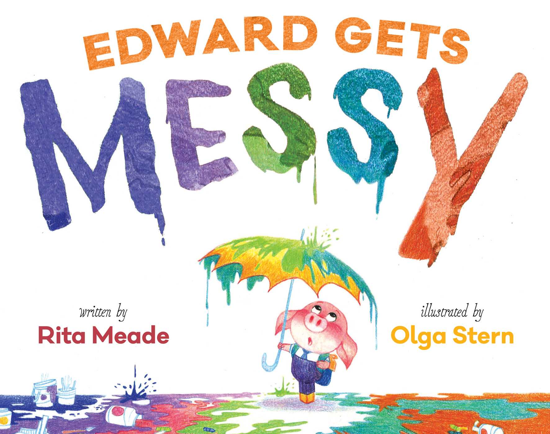 Edward gets messy 9781481437776 hr