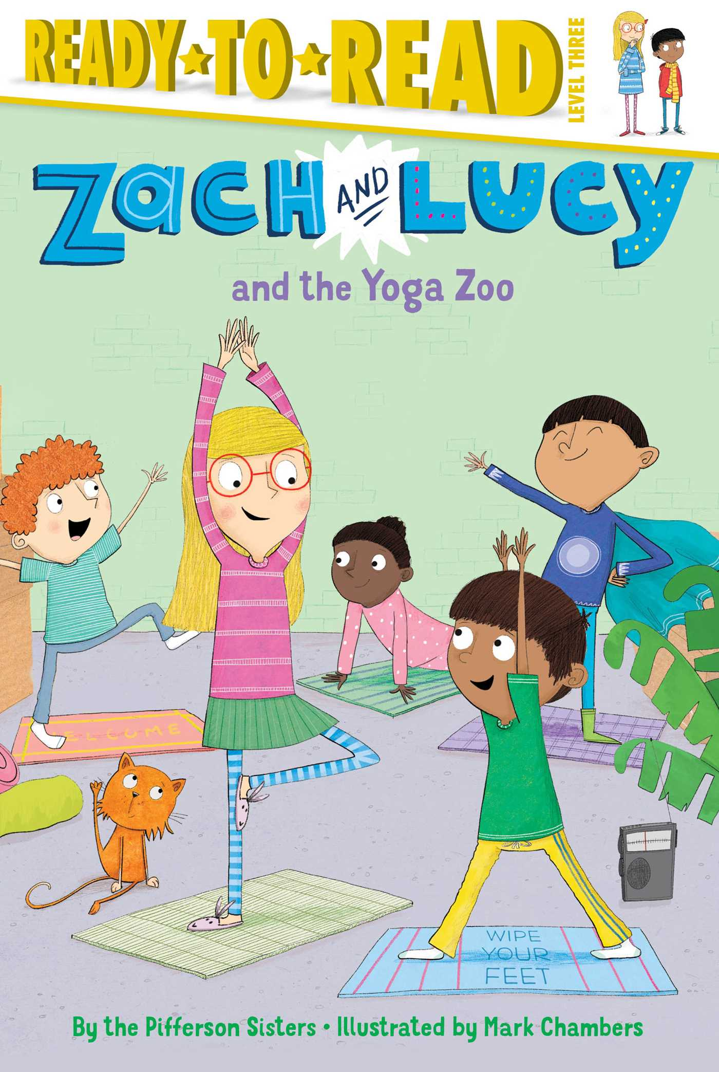 Zach and lucy and the yoga zoo 9781481439381 hr