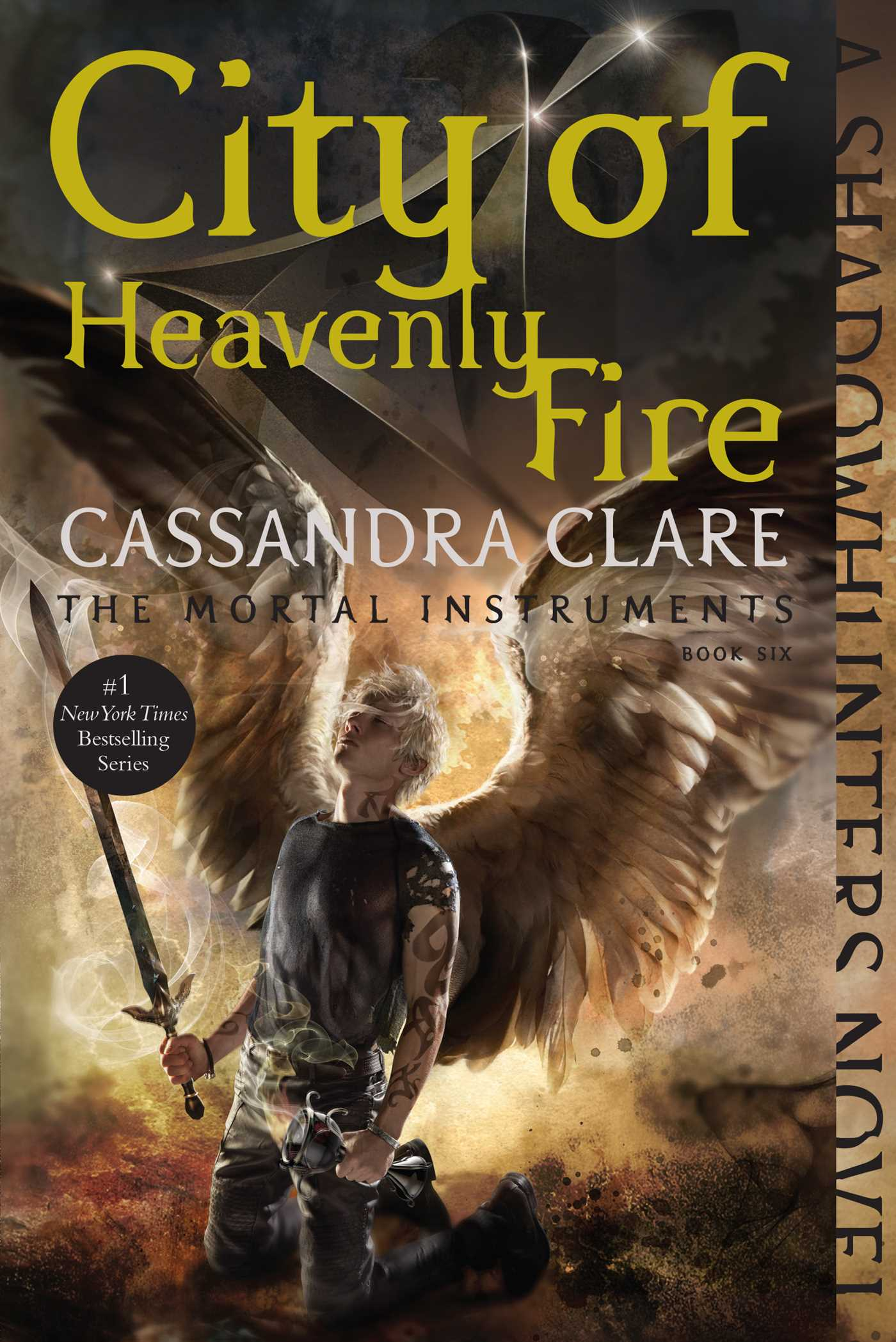 City of heavenly fire 9781481444422 hr