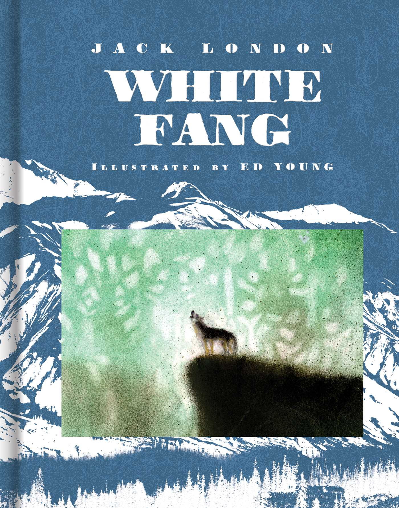 White Fang Book Cover : White fang book by jack london ed young official