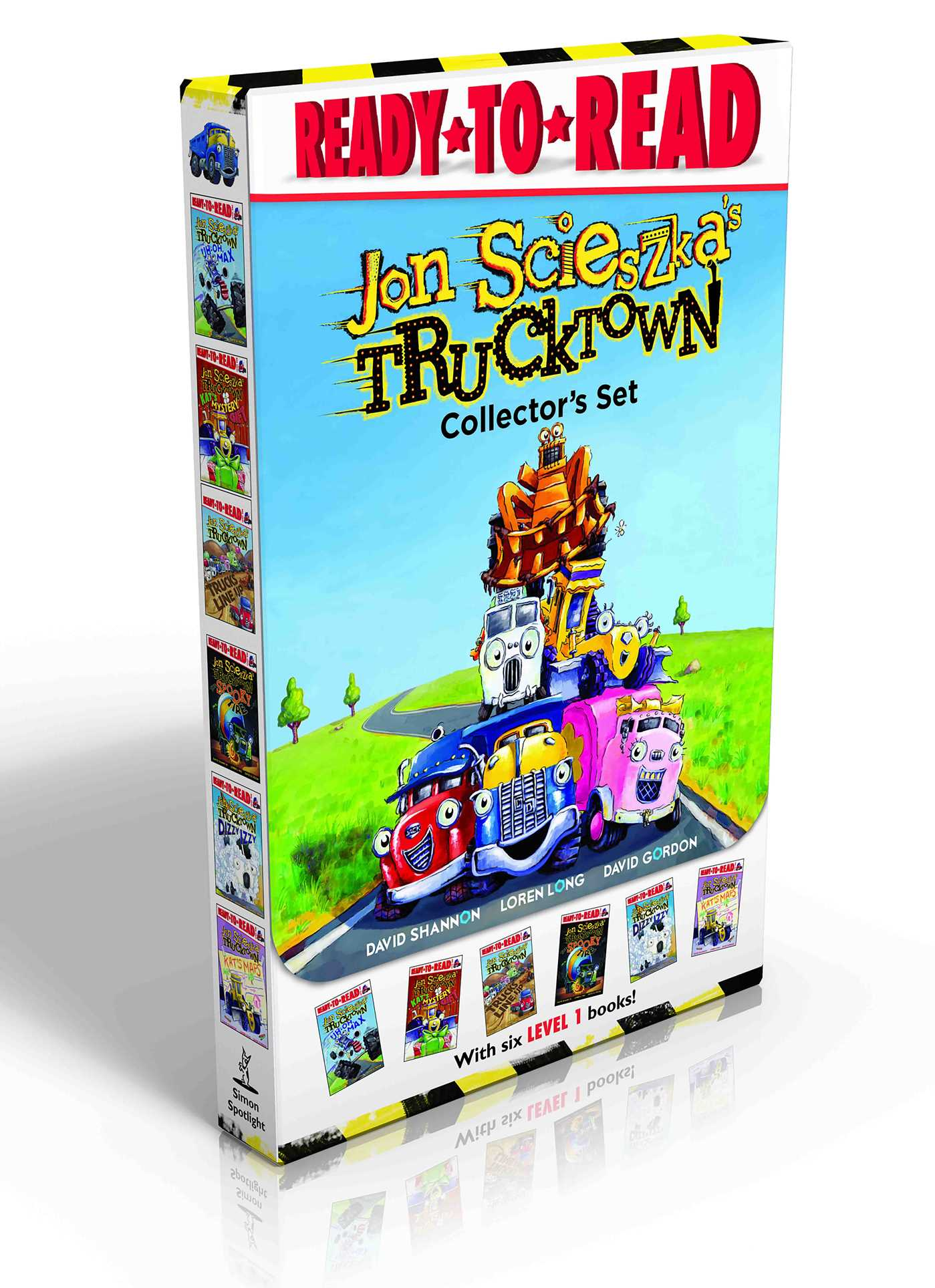 Trucktown collectors set 9781481444835 hr