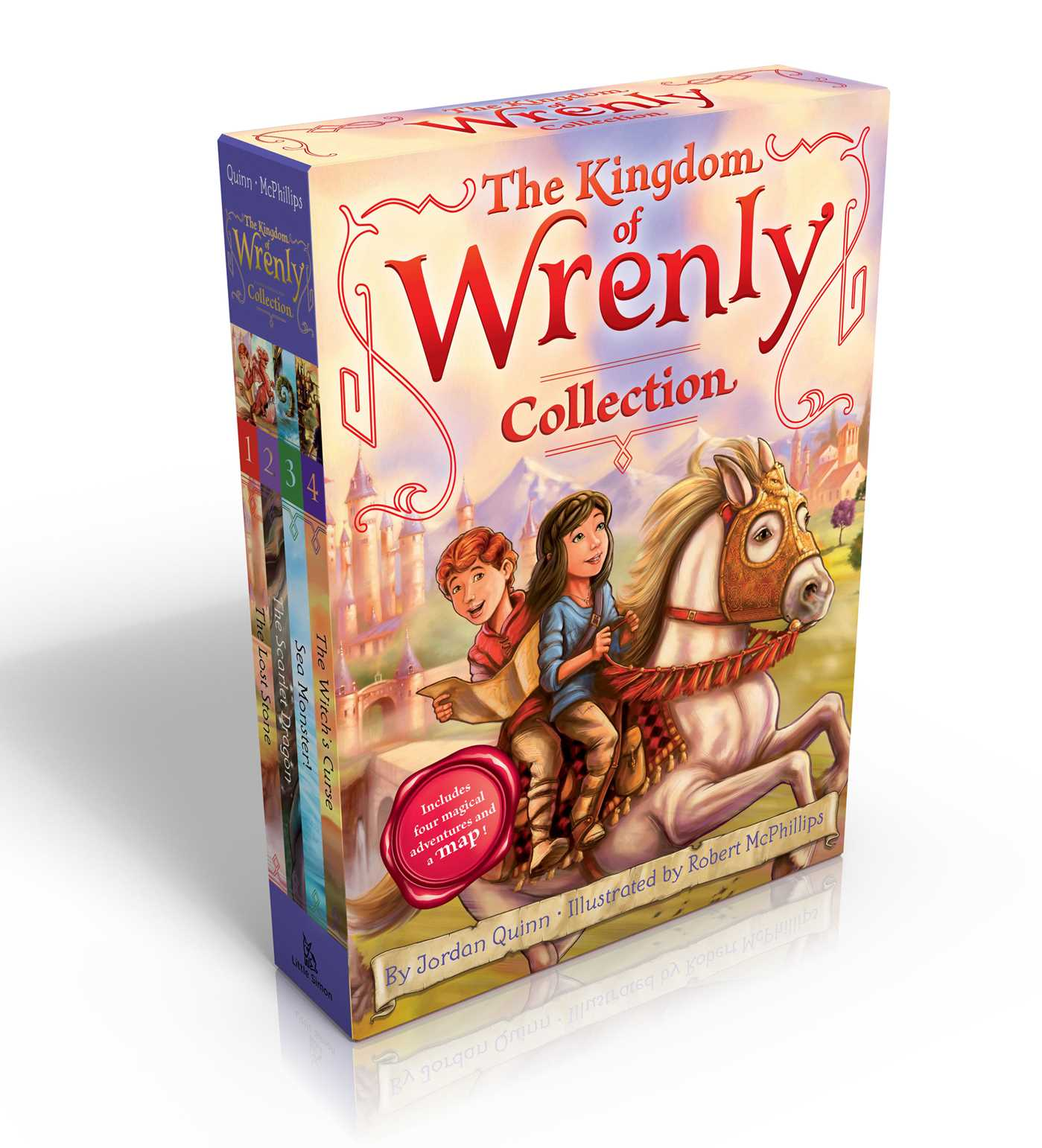 The kingdom of wrenly collection includes four magical adventures and a map 9781481444866 hr